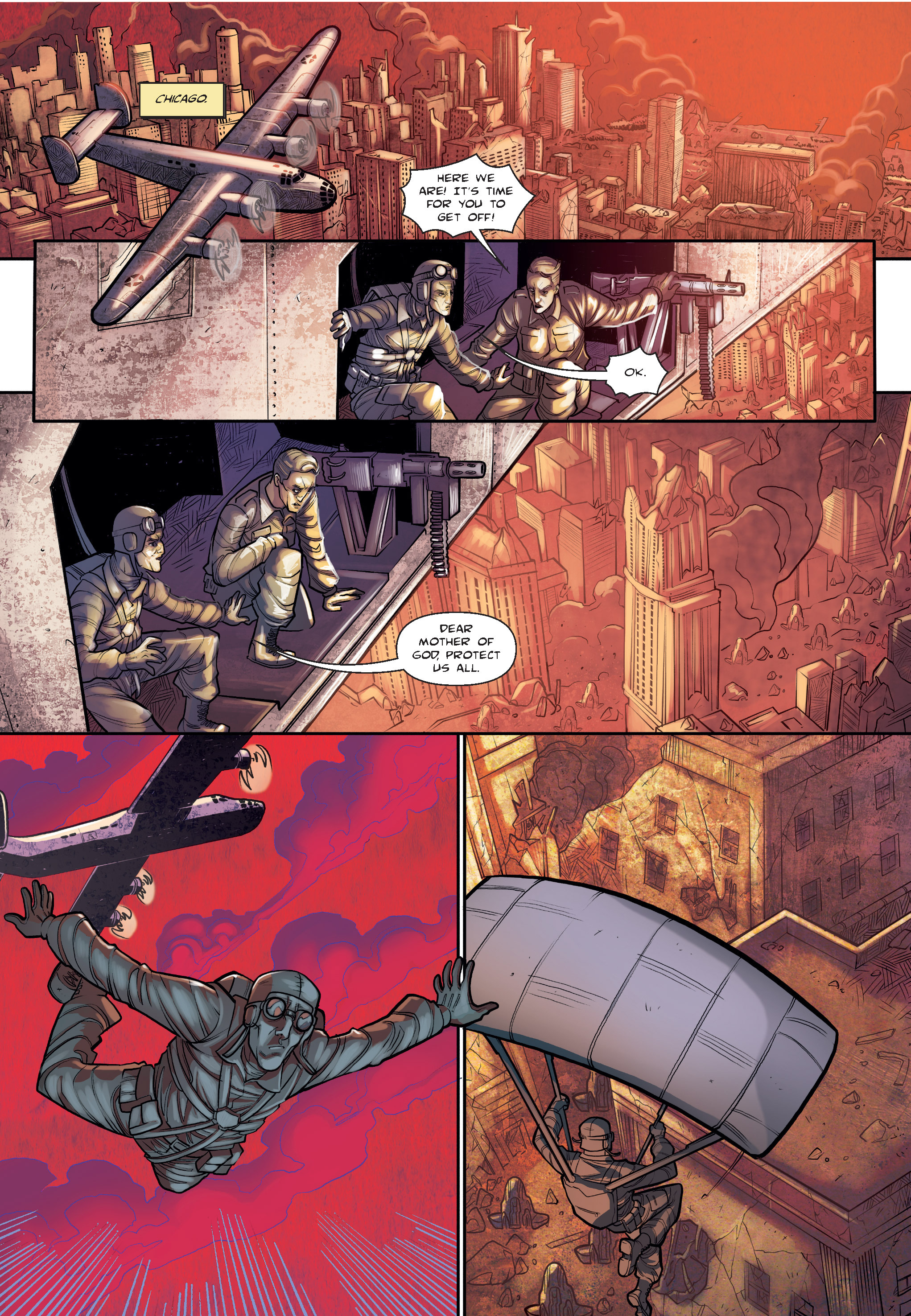 Read online The Shadow of a Terrible Thing comic -  Issue # TPB - 19