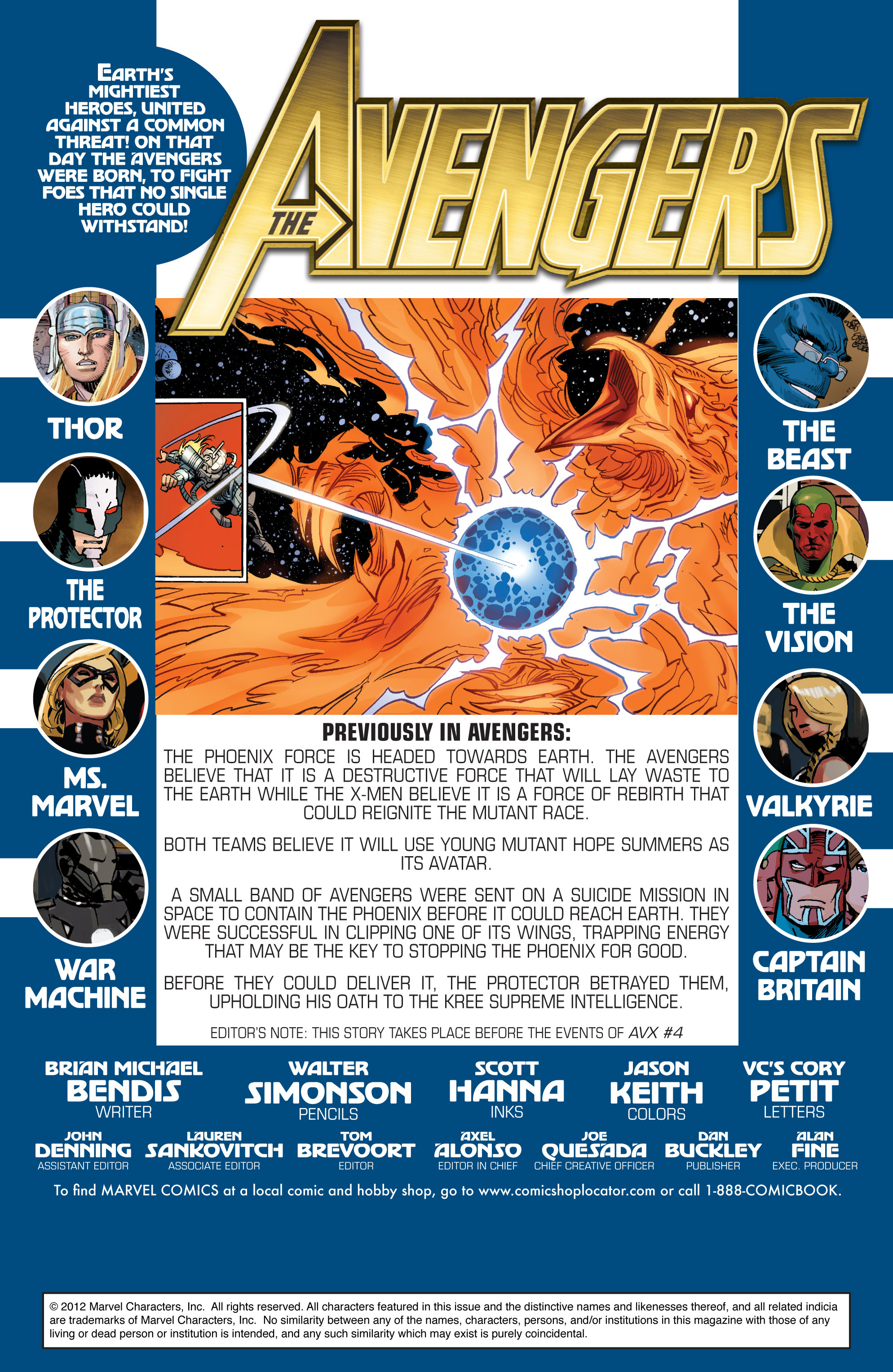 Read online Avengers (2010) comic -  Issue #27 - 2