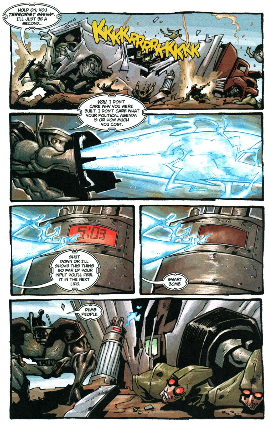 Read online Enginehead comic -  Issue #5 - 4