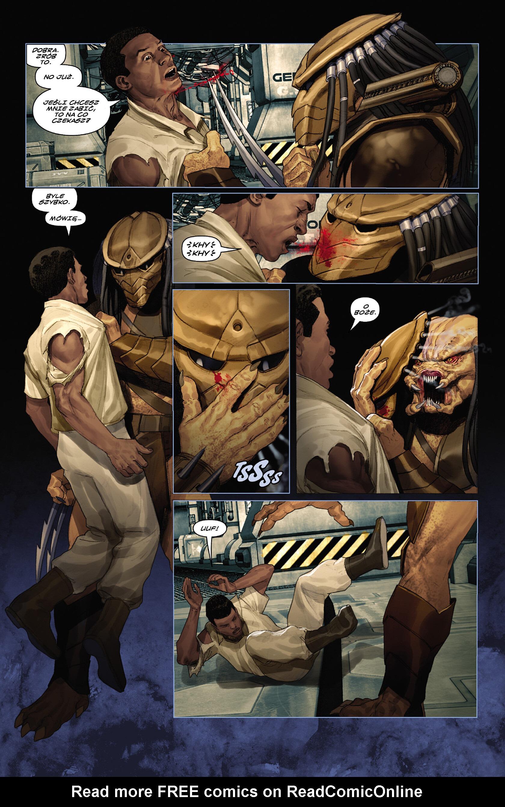 Read online Alien vs. Predator: Fire and Stone comic -  Issue #3 - 4