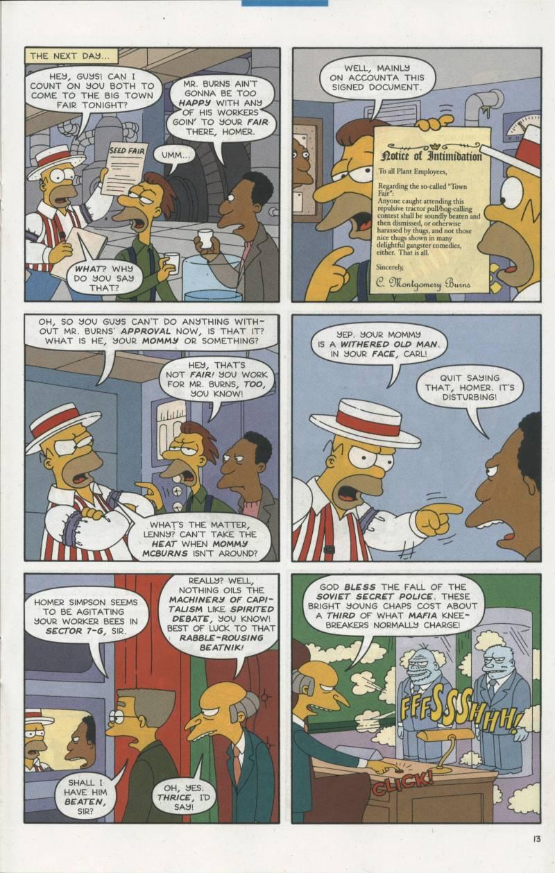 Read online Simpsons Comics comic -  Issue #67 - 14