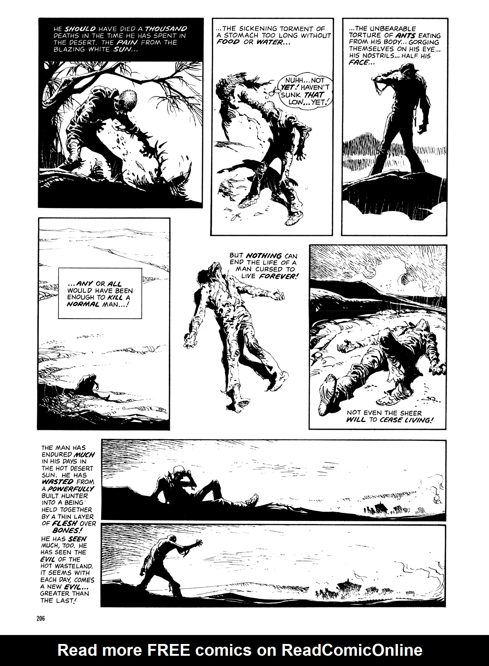 Read online Eerie Archives comic -  Issue # TPB 14 - 207