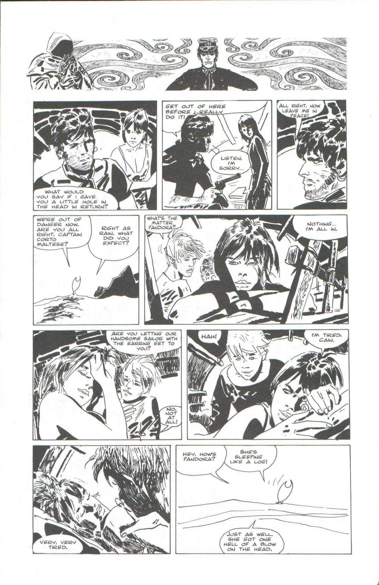 Read online Corto Maltese: Ballad of the Salt Sea comic -  Issue #2 - 24