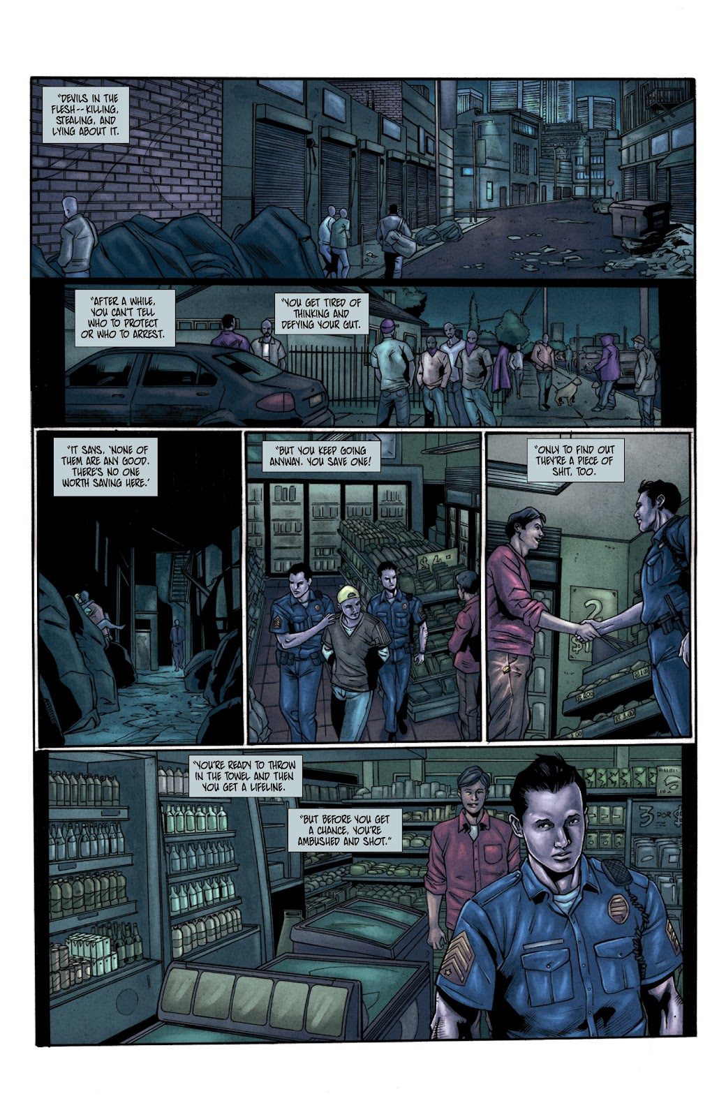 Read online Vindication comic -  Issue #3 - 11