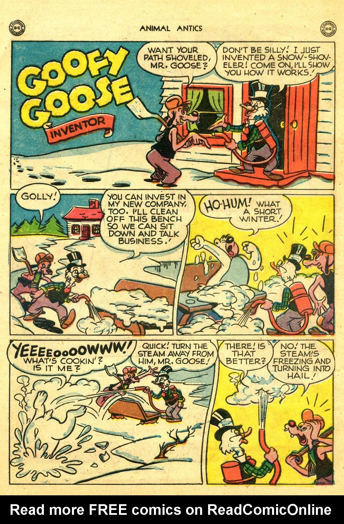 Read online Animal Antics comic -  Issue #8 - 10