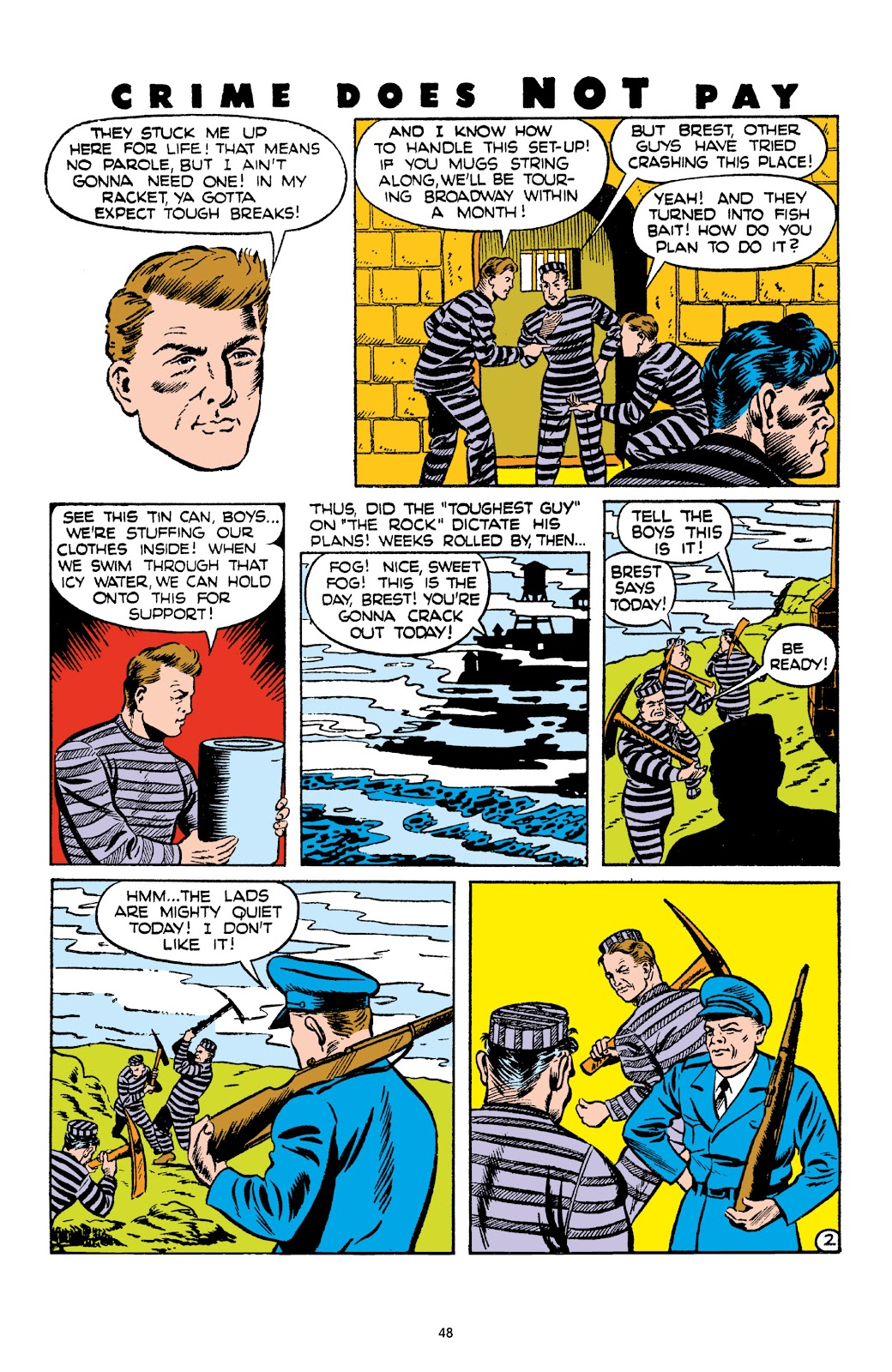 Read online Crime Does Not Pay Archives comic -  Issue # TPB 4 (Part 1) - 48