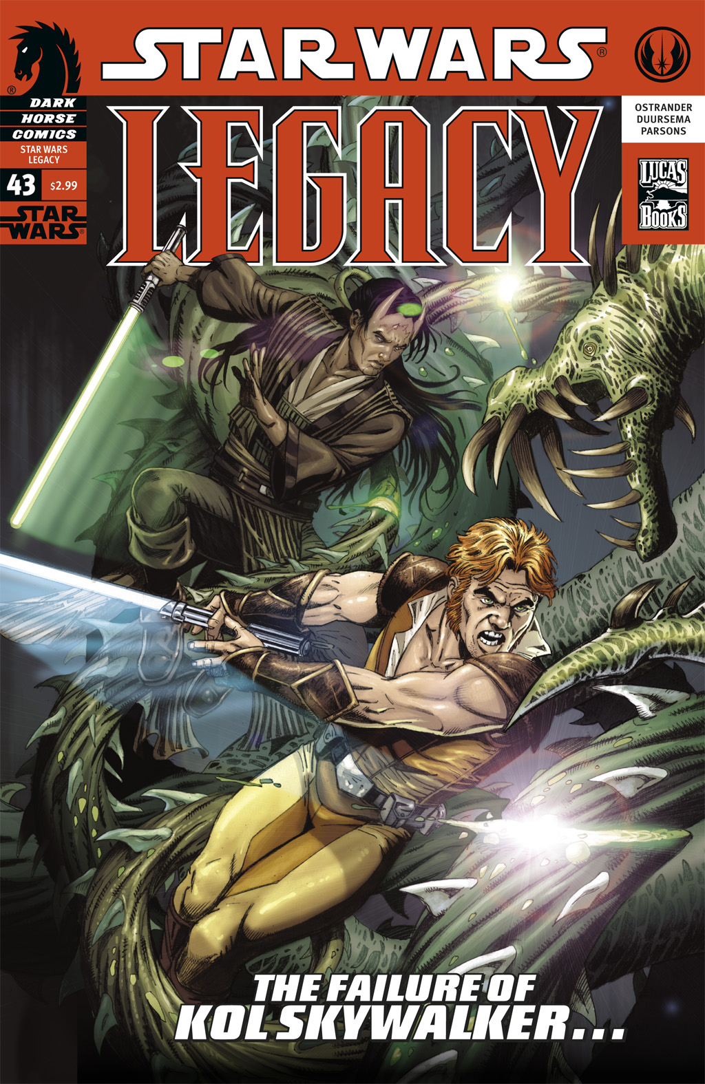 Star Wars: Legacy (2006) issue 43 - Page 1