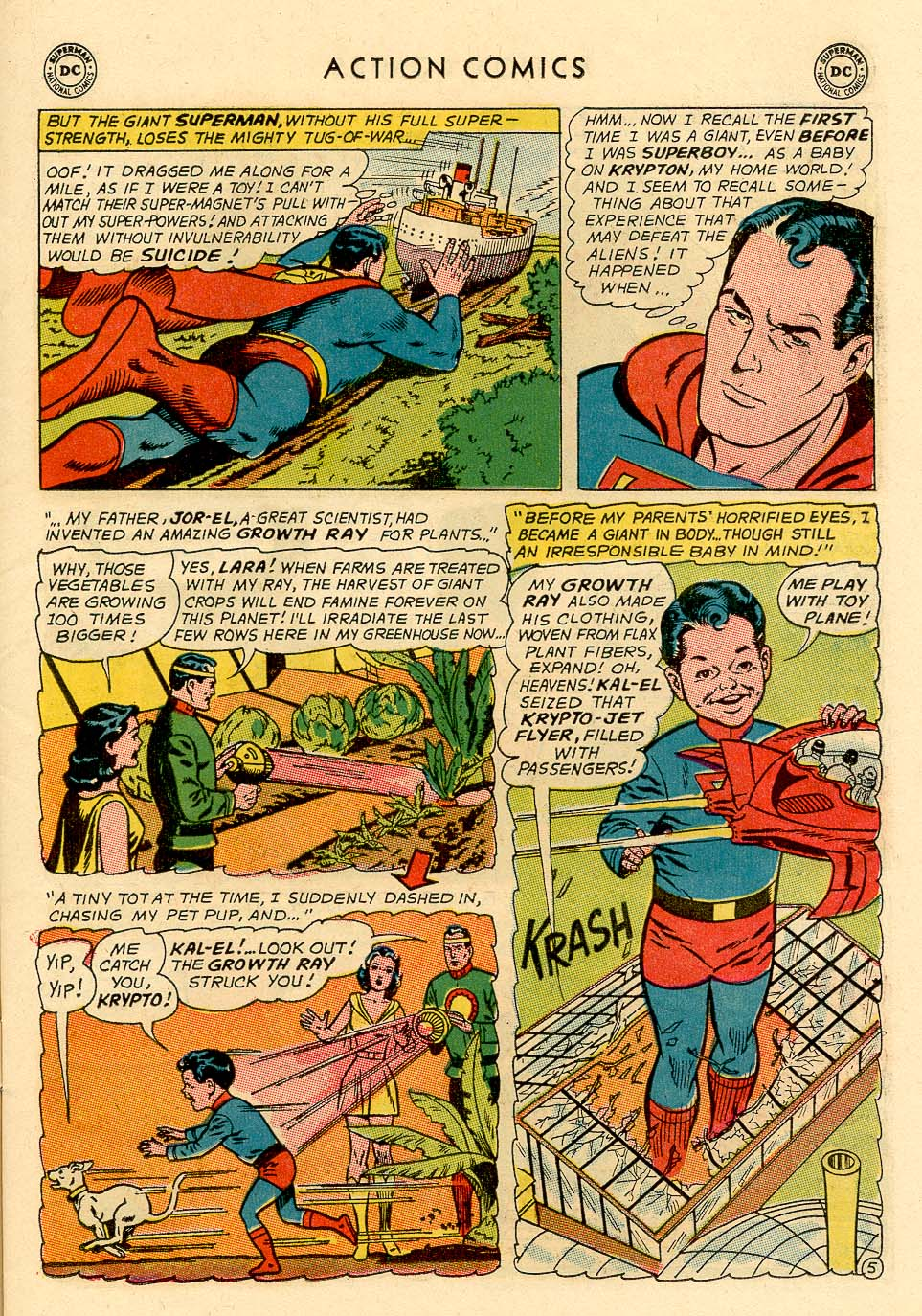 Read online Action Comics (1938) comic -  Issue #325 - 7
