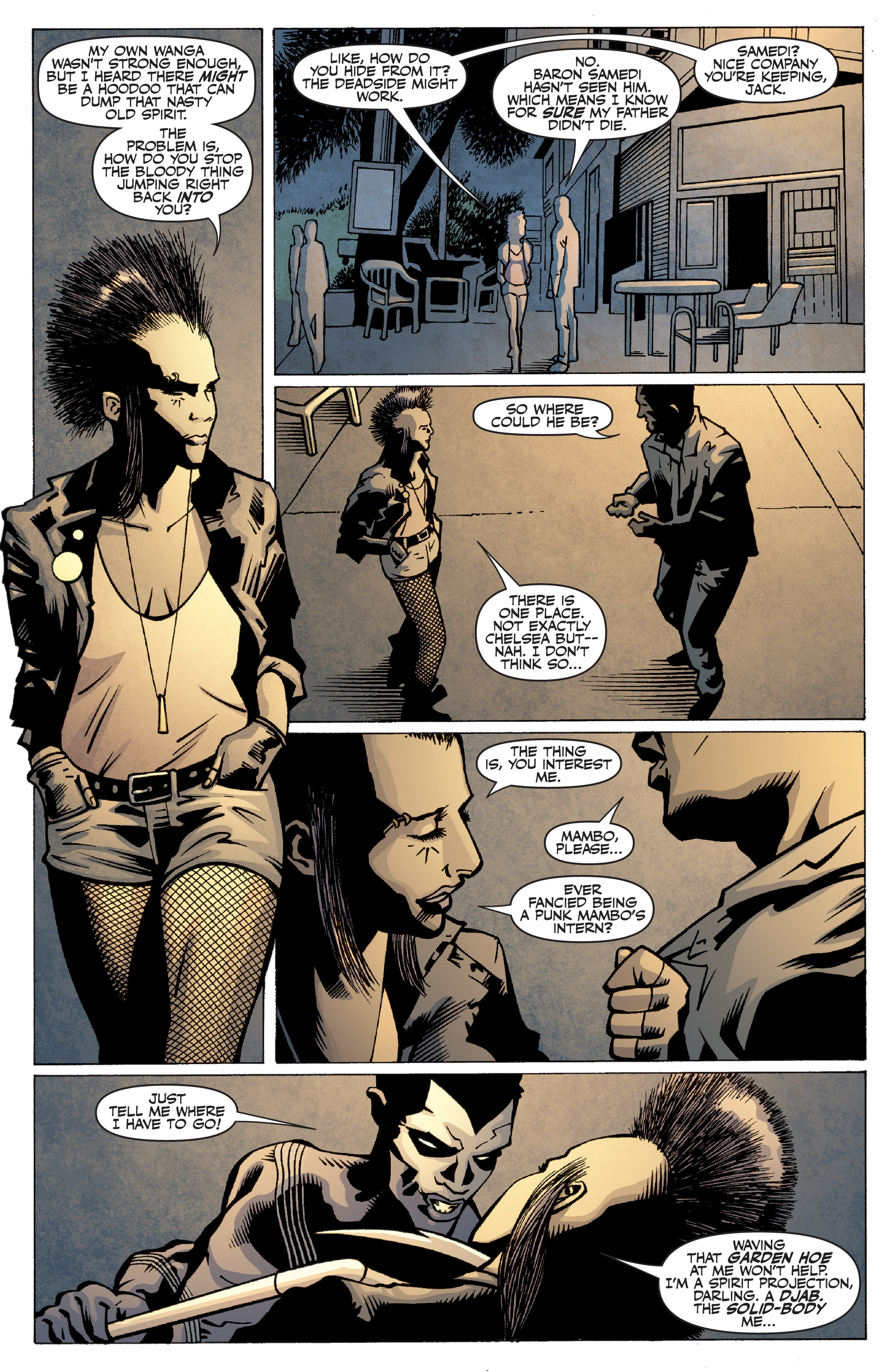 Read online Shadowman: End Times comic -  Issue #2 - 11