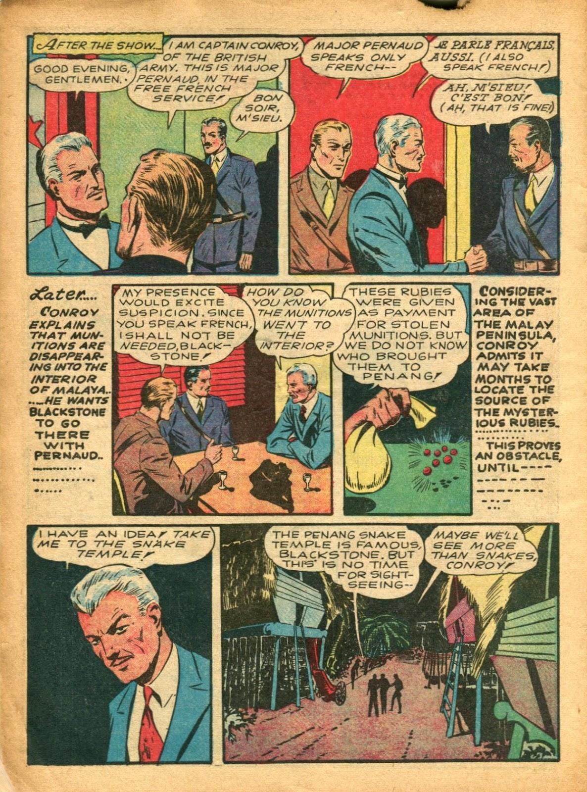 Read online Super-Magician Comics comic -  Issue #5 - 8