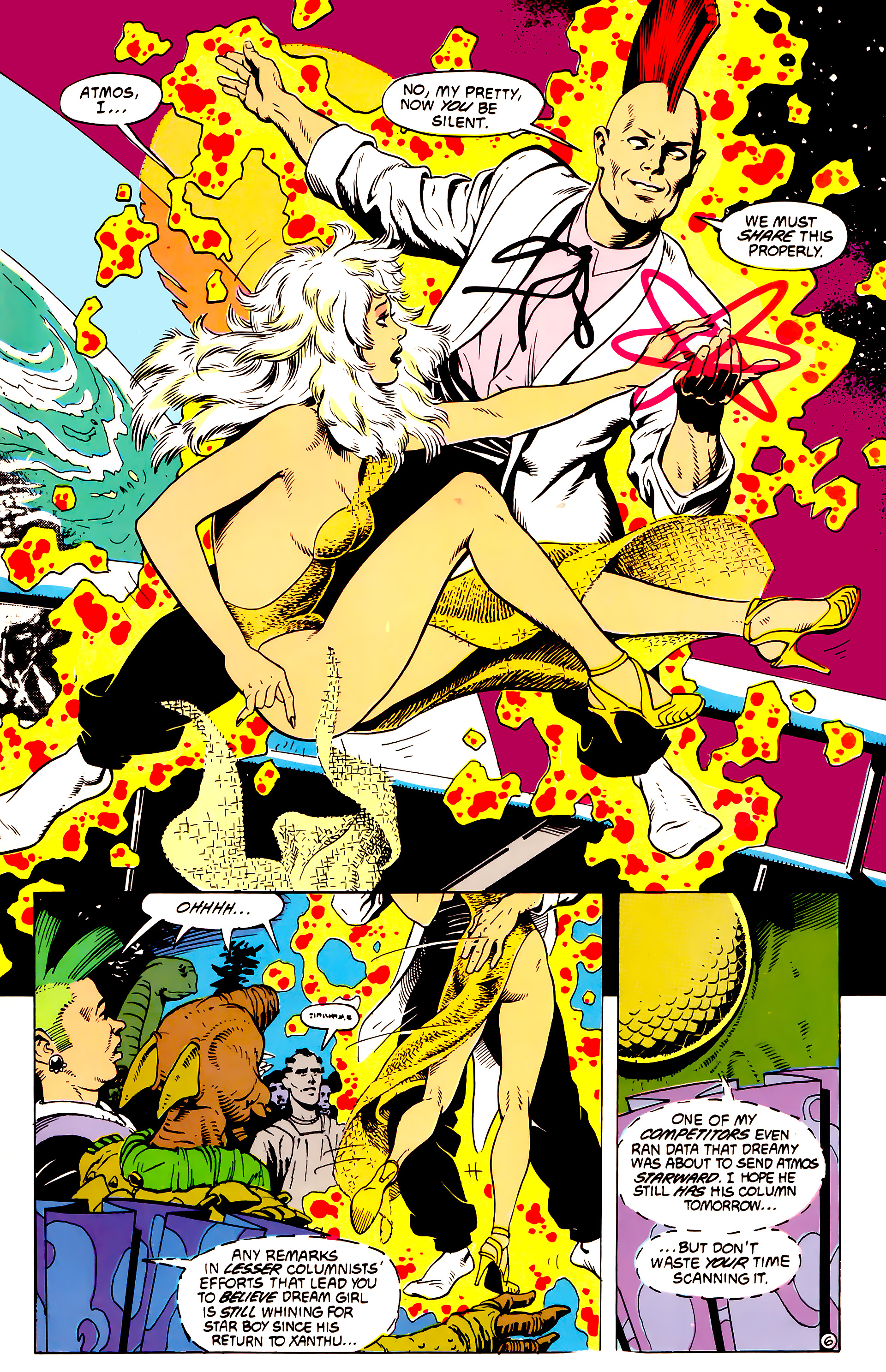 Legion of Super-Heroes (1984) _Annual_4 Page 41