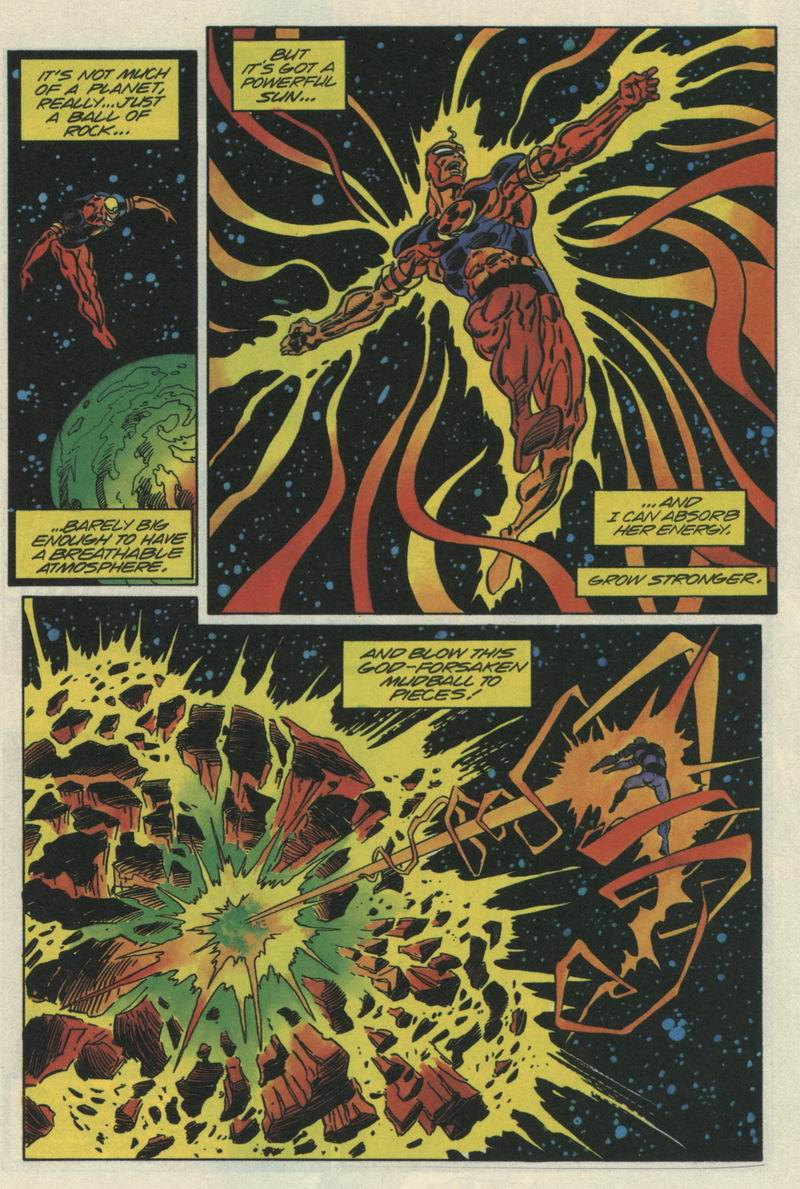 Read online Solar, Man of the Atom comic -  Issue #35 - 7