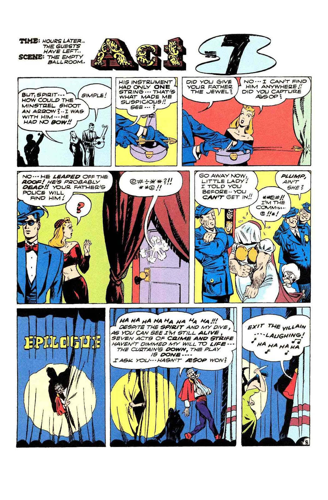 Read online Will Eisner's The Spirit Archives comic -  Issue # TPB 3 (Part 2) - 85
