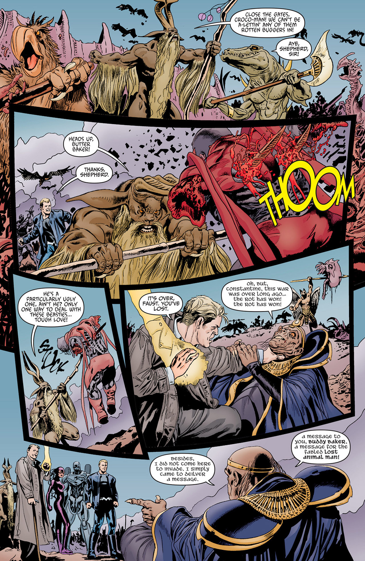 Read online Animal Man (2011) comic -  Issue #14 - 9