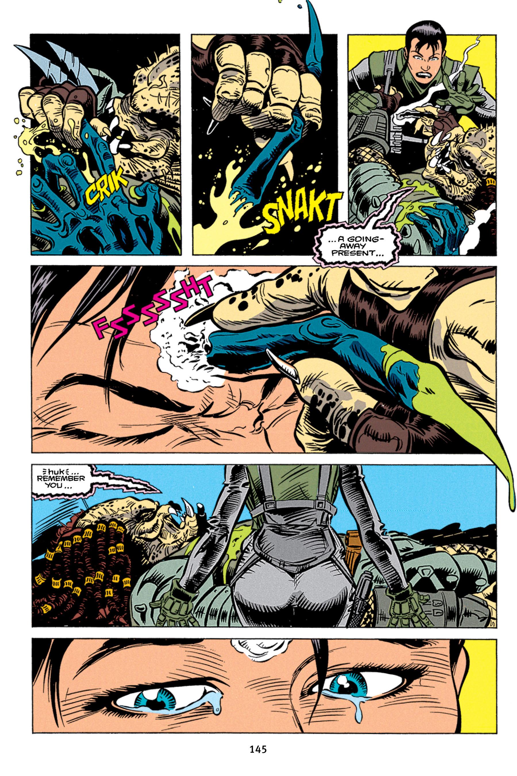 Read online Aliens vs. Predator Omnibus comic -  Issue # _TPB 1 Part 2 - 44
