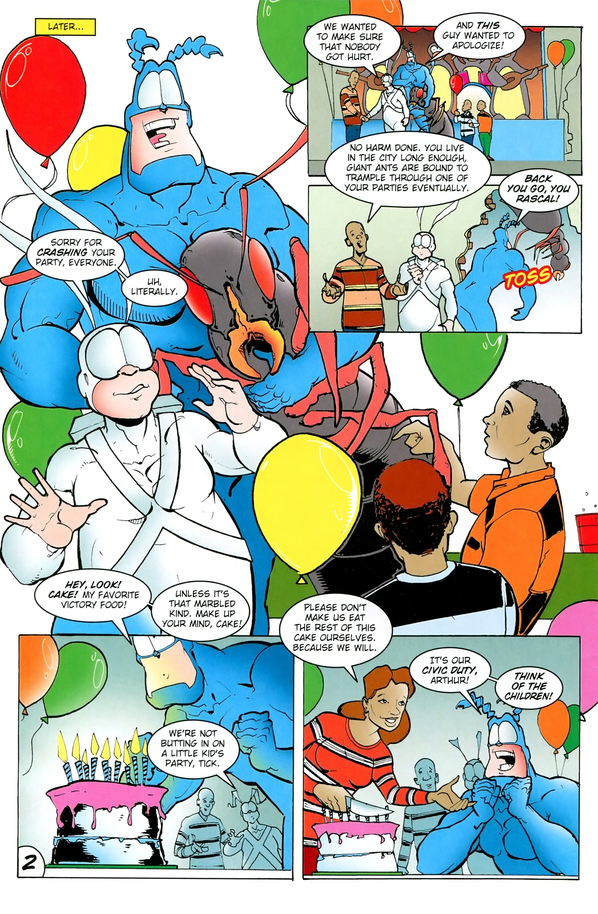 Read online Free Comic Book Day 2017 comic -  Issue # The Tick - 4