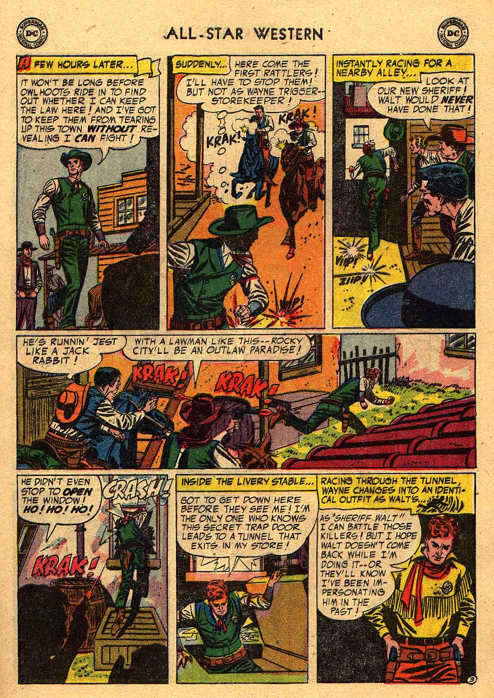 Read online All-Star Western (1951) comic -  Issue #80 - 5