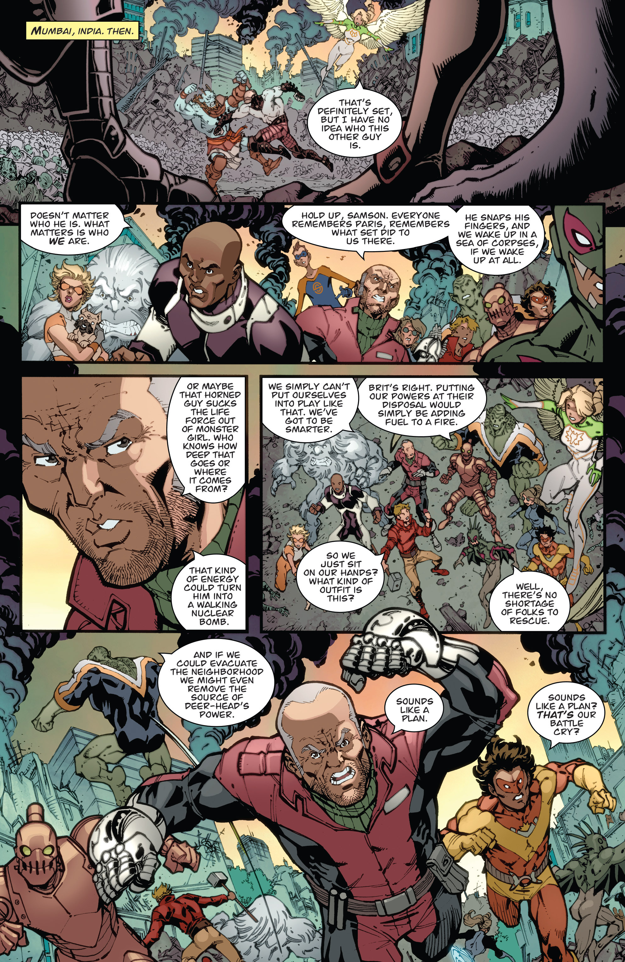 Read online Guarding the Globe (2012) comic -  Issue #6 - 4