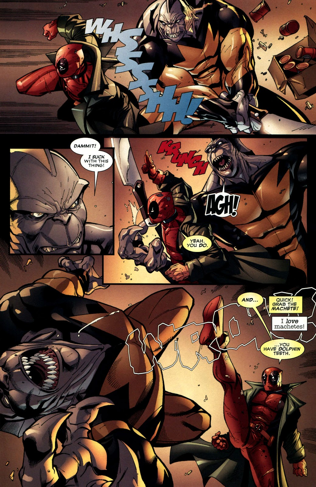 Read online Deadpool (2008) comic -  Issue #6 - 16