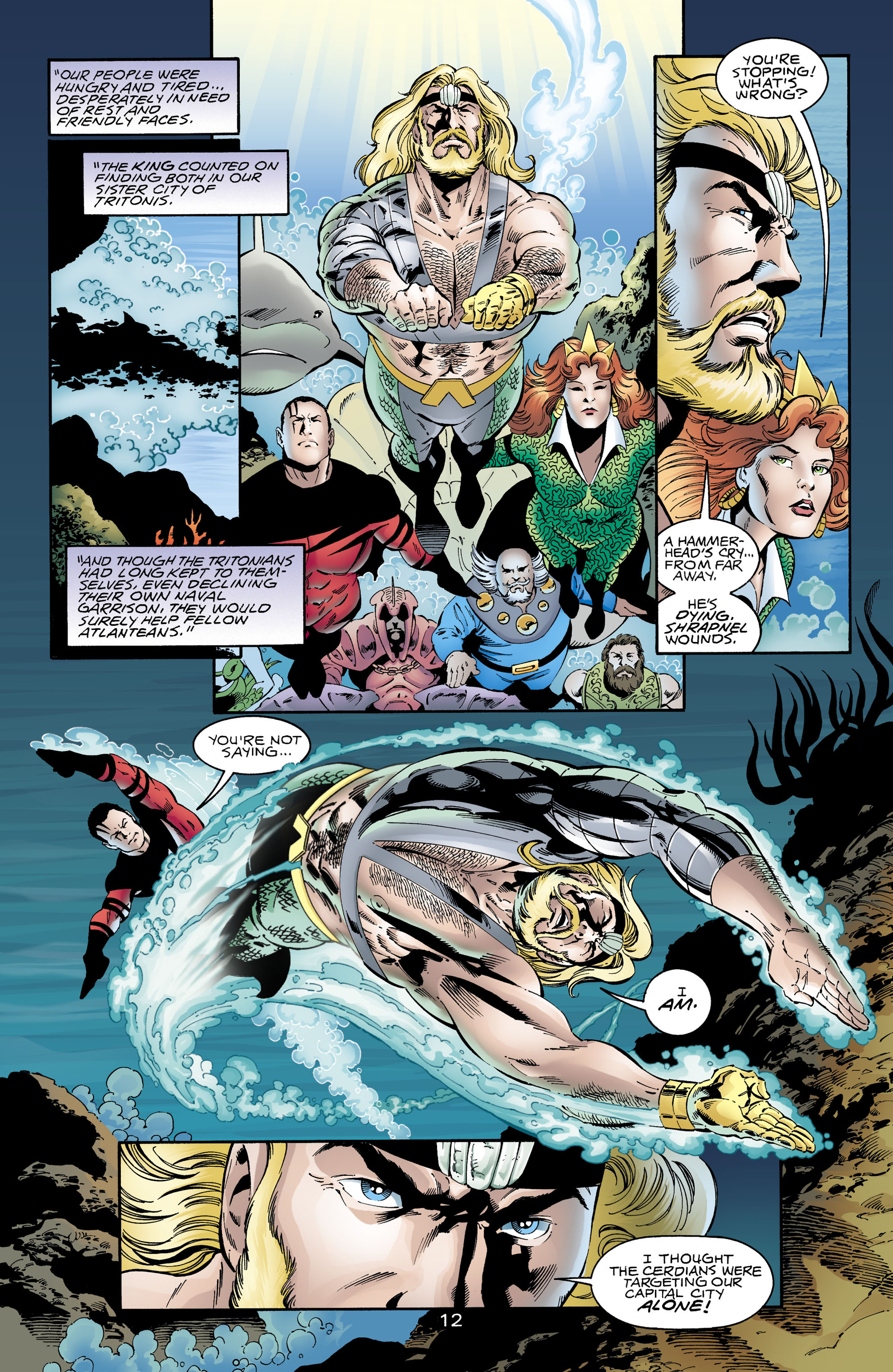 Read online Aquaman (1994) comic -  Issue #65 - 12