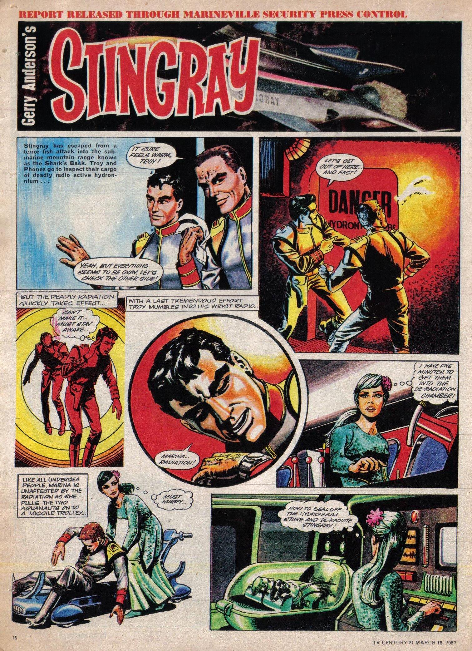 Read online TV Century 21 (TV 21) comic -  Issue #113 - 15