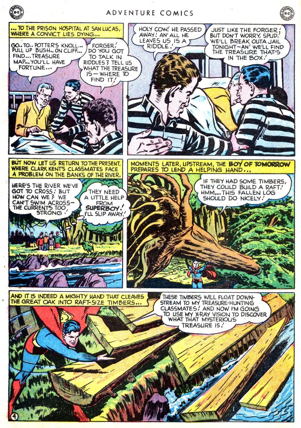 Read online Adventure Comics (1938) comic -  Issue #137 - 6