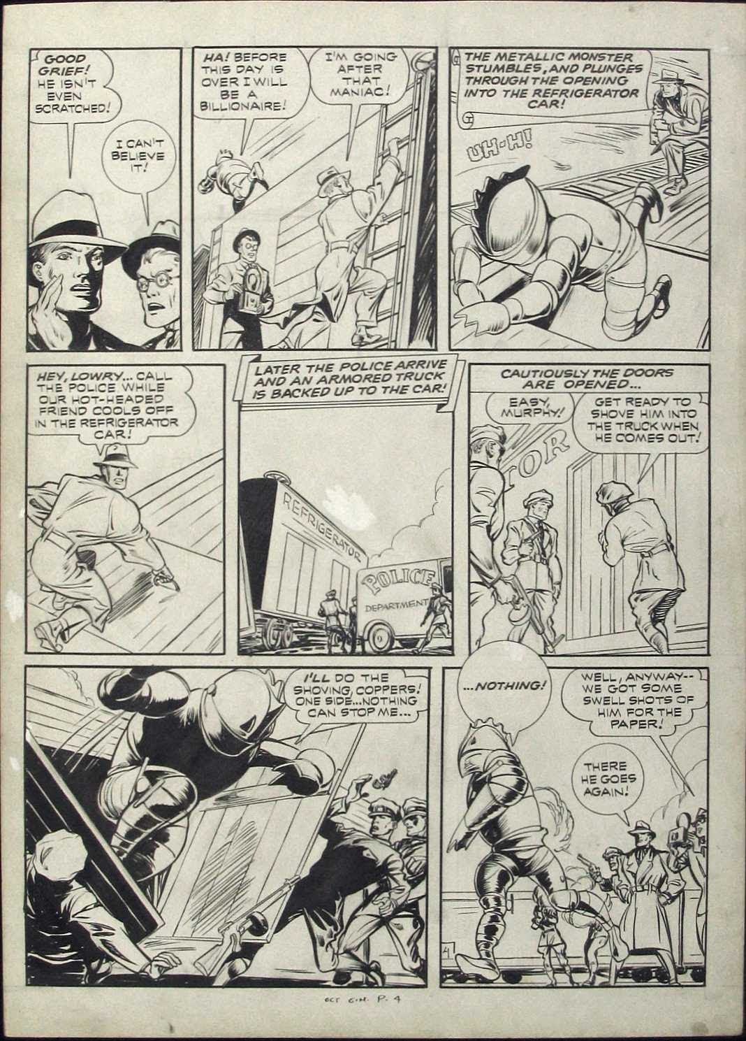 Green Hornet Comics issue 9 - Page 4