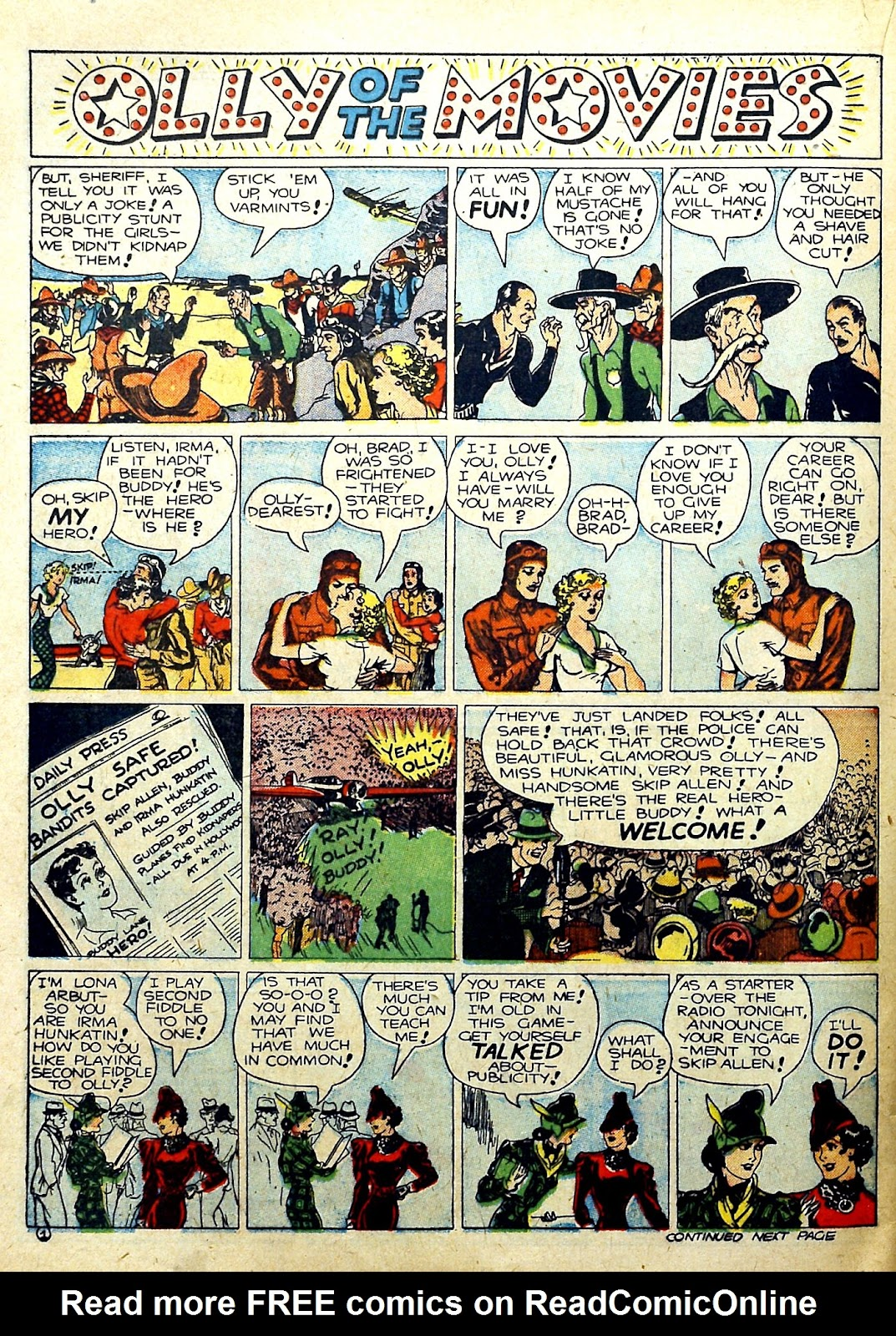 Read online Famous Funnies comic -  Issue #78 - 44