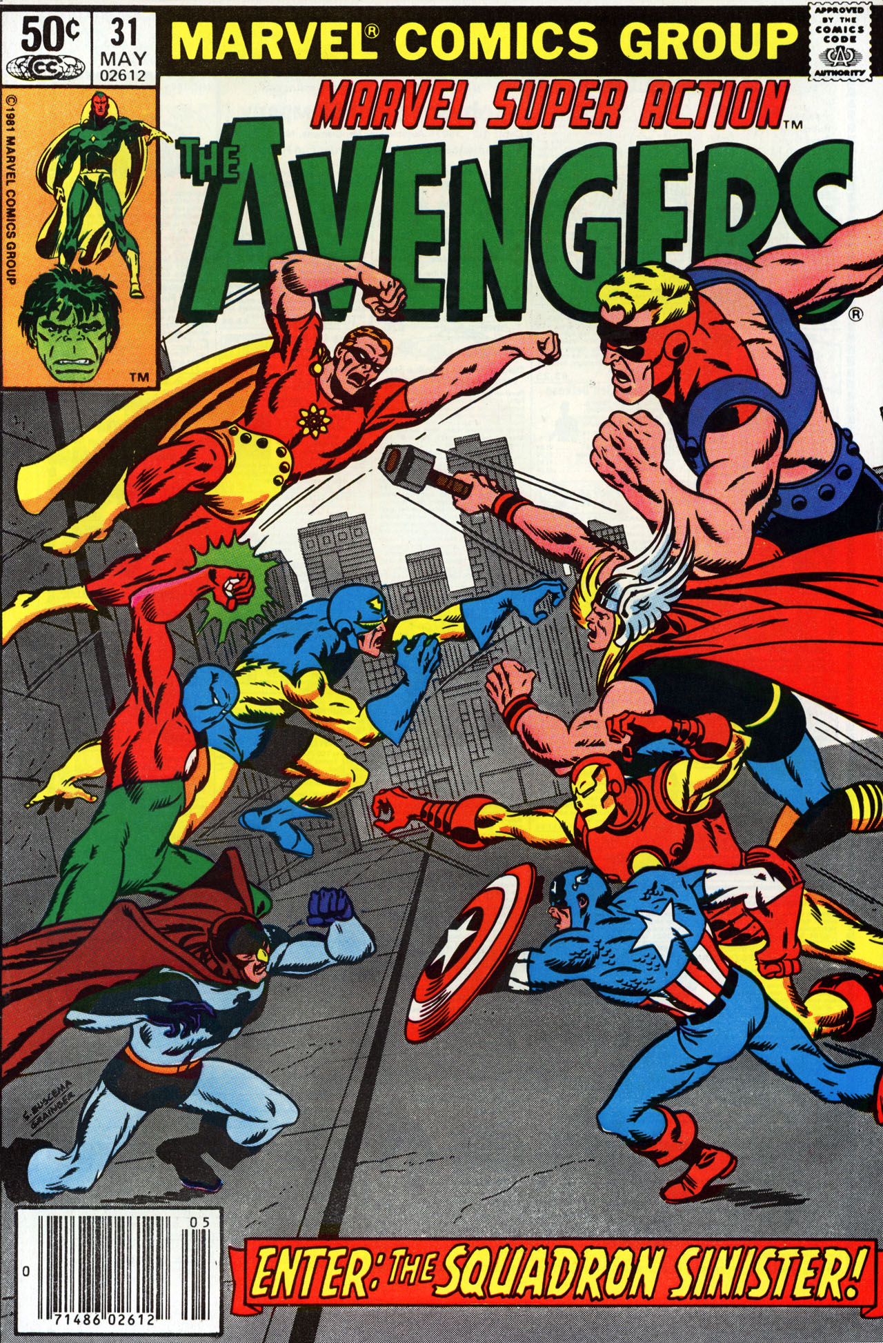 Marvel Super Action (1977) issue 31 - Page 1