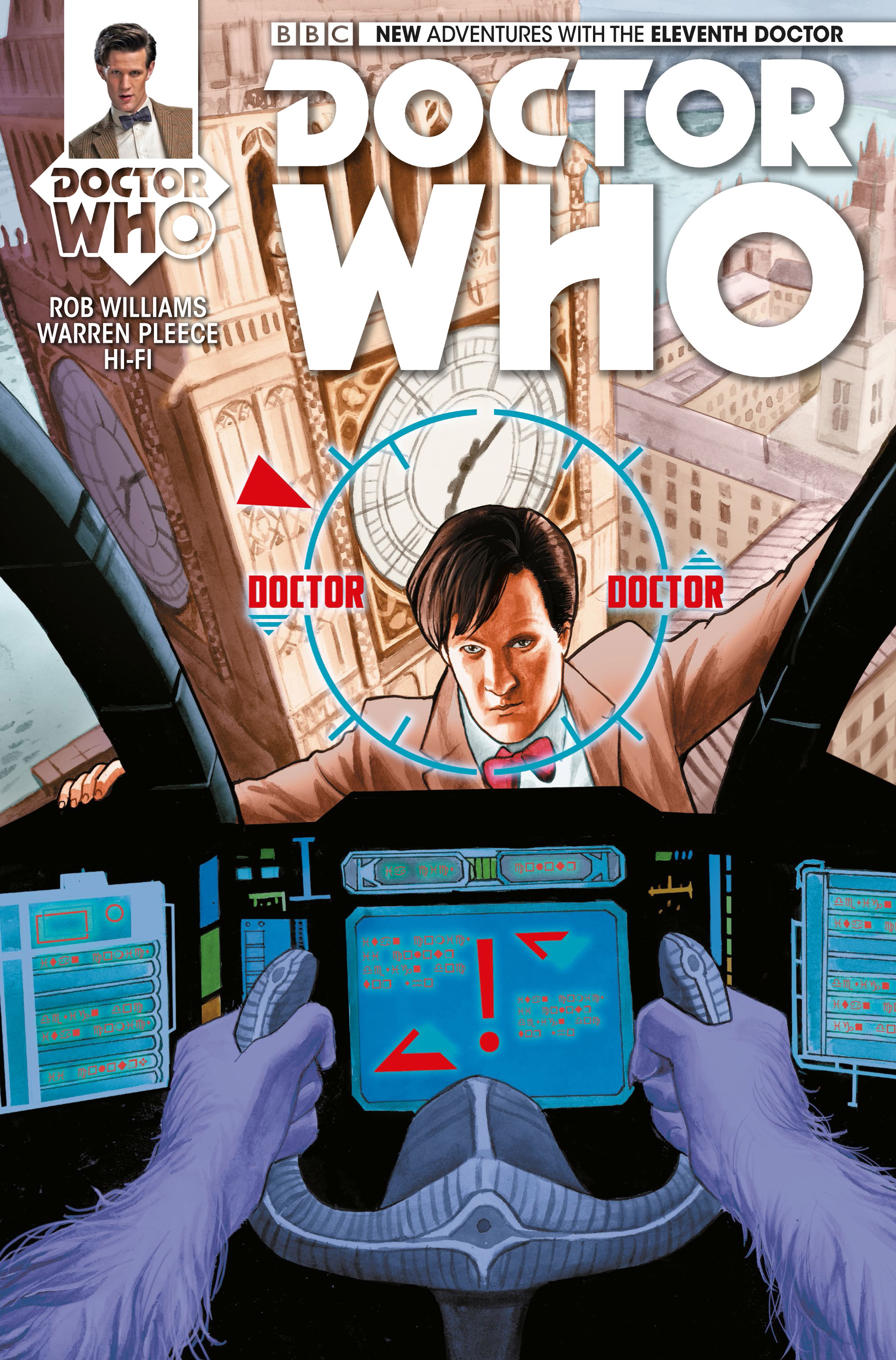 Doctor Who: The Eleventh Doctor 7 Page 1