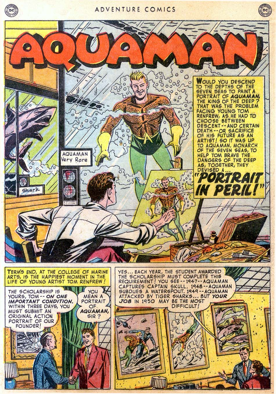 Read online Adventure Comics (1938) comic -  Issue #158 - 31