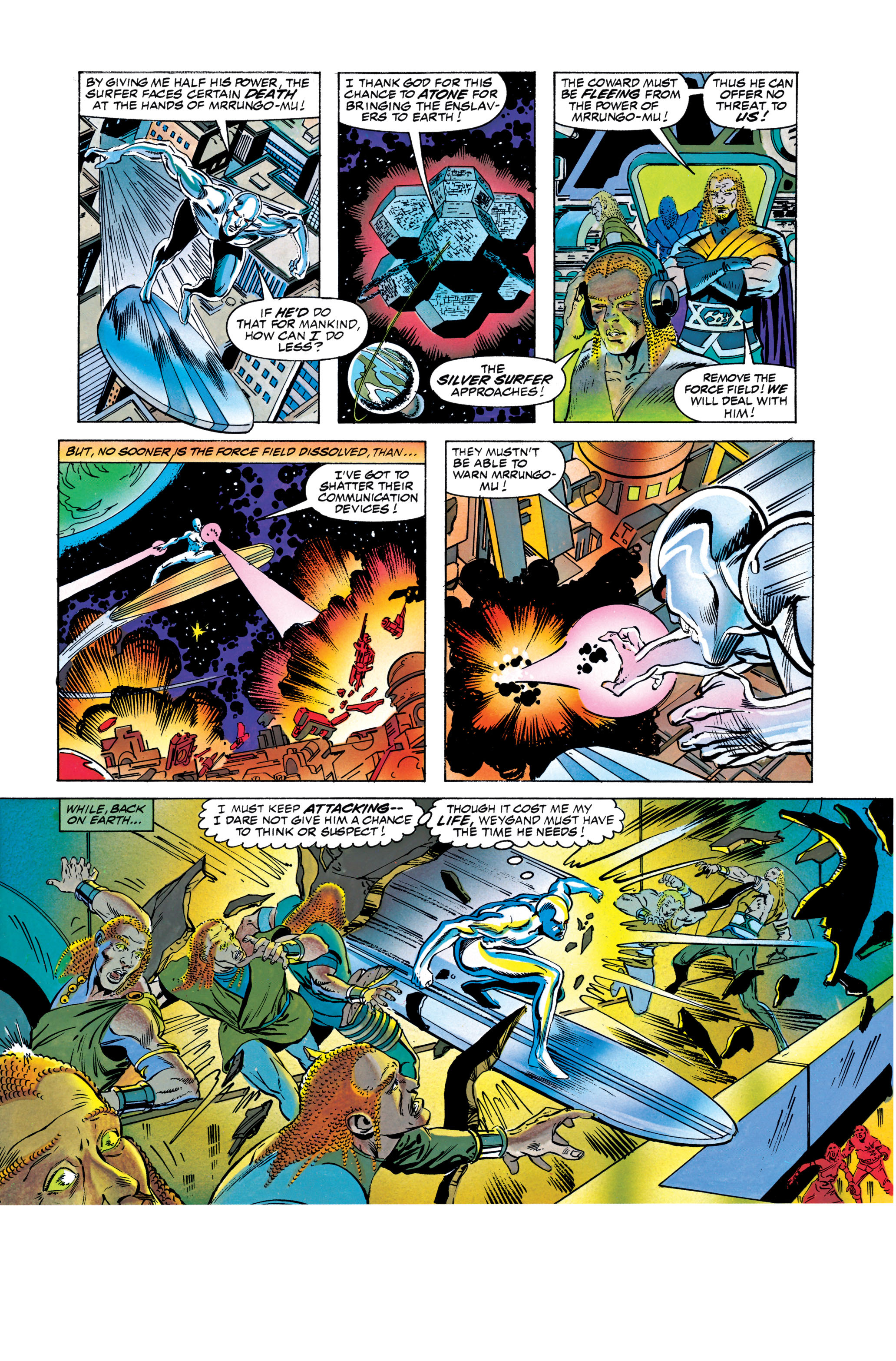 Read online Silver Surfer: Parable comic -  Issue # TPB - 116