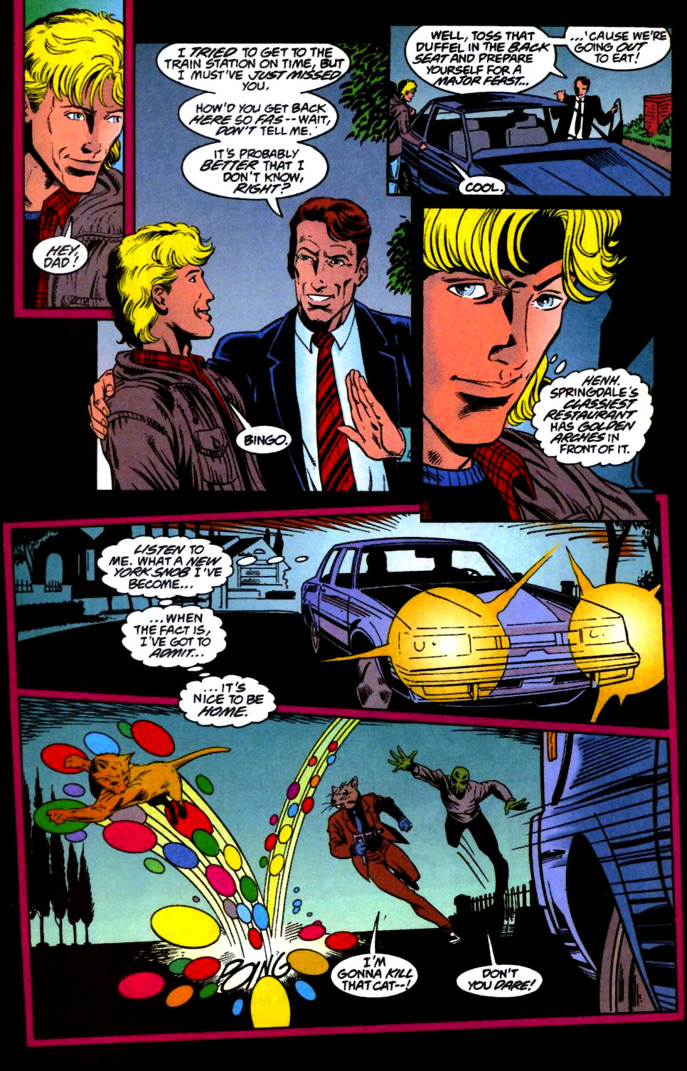 The New Warriors Issue #66 #70 - English 6