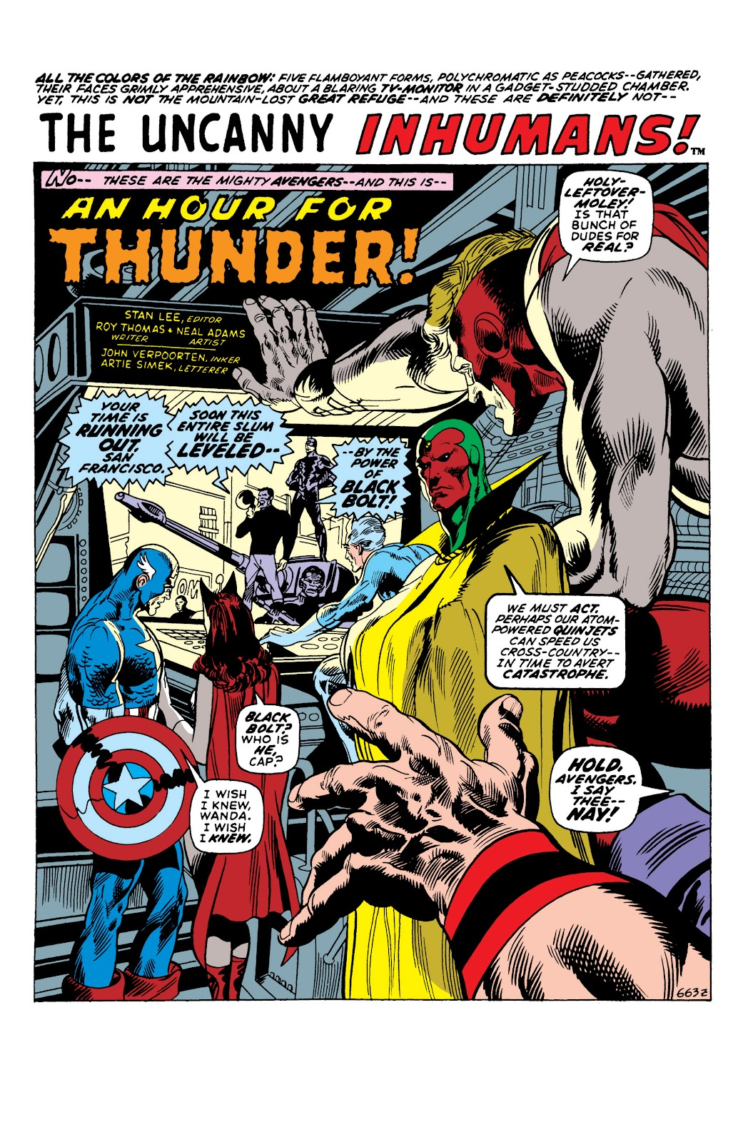 Read online Marvel Masterworks: The Inhumans comic -  Issue # TPB 1 (Part 2) - 47