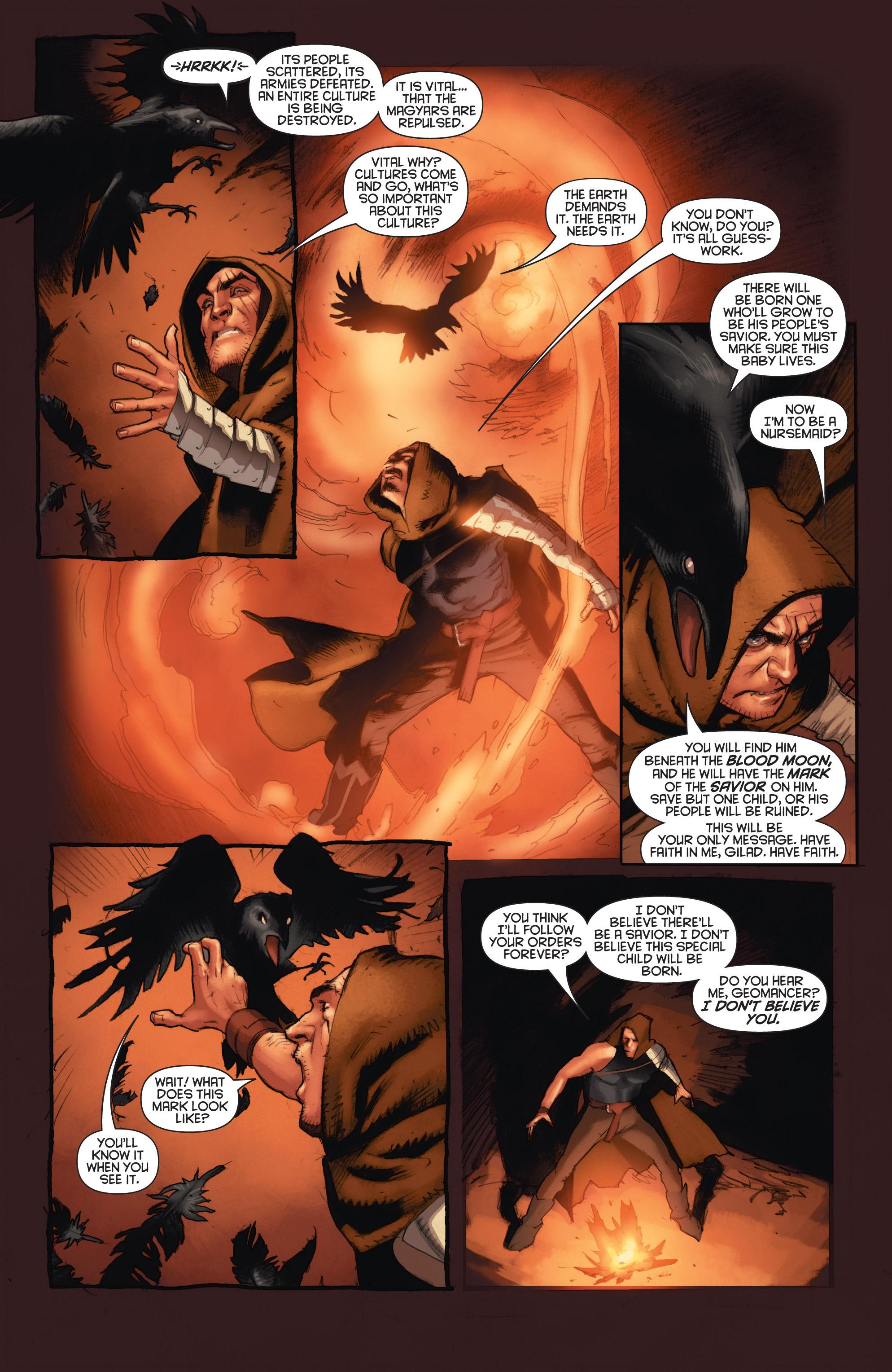 Read online Eternal Warrior: Days of Steel comic -  Issue #1 - 11
