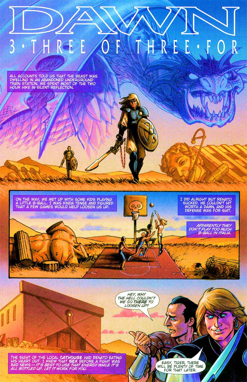 Read online Dawn: Three Tiers comic -  Issue #3 - 11
