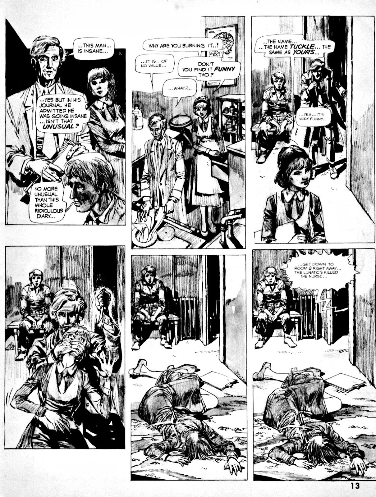 Nightmare (1970) issue 14 - Page 13