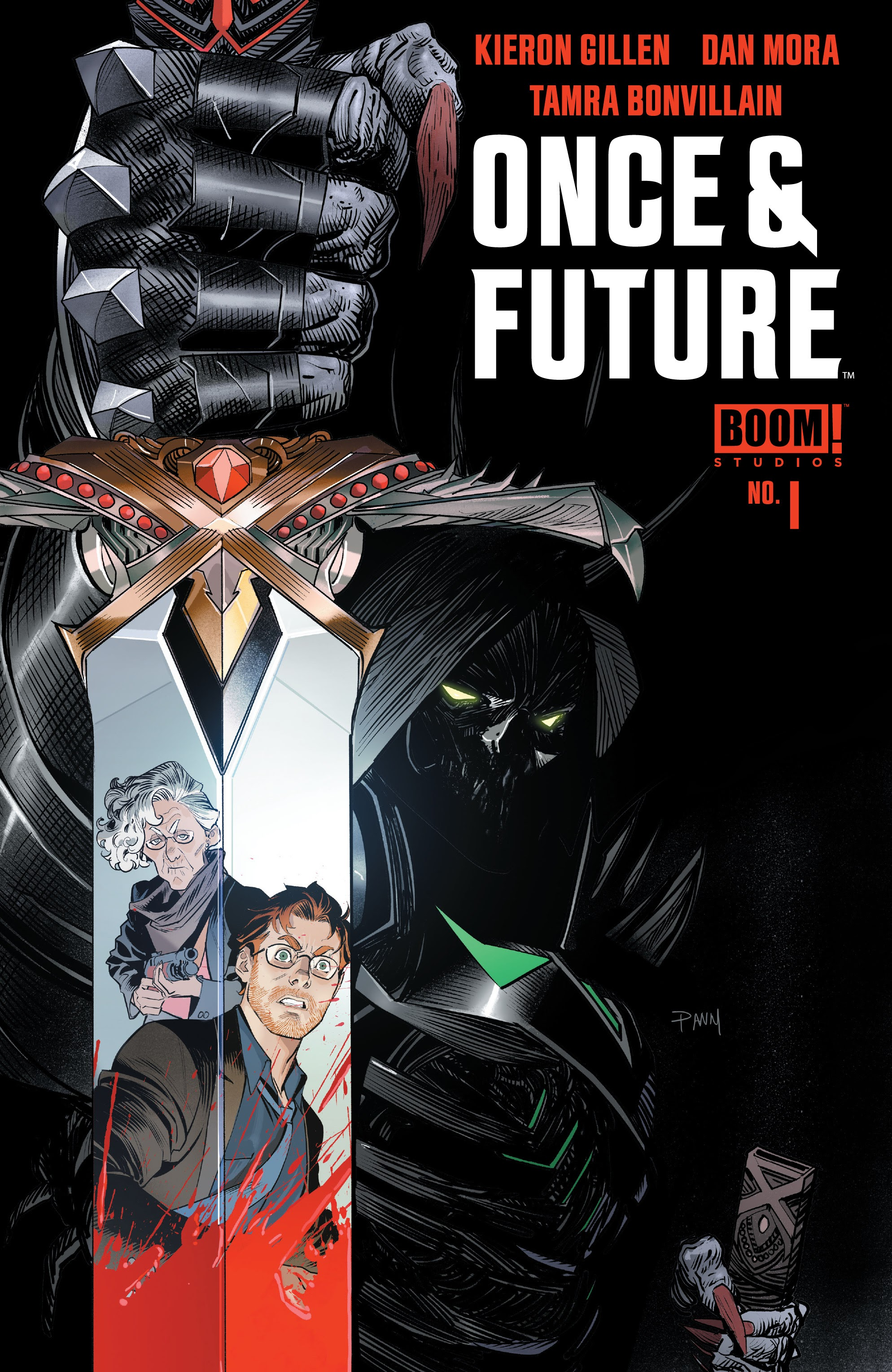 Once & Future 1 Page 1