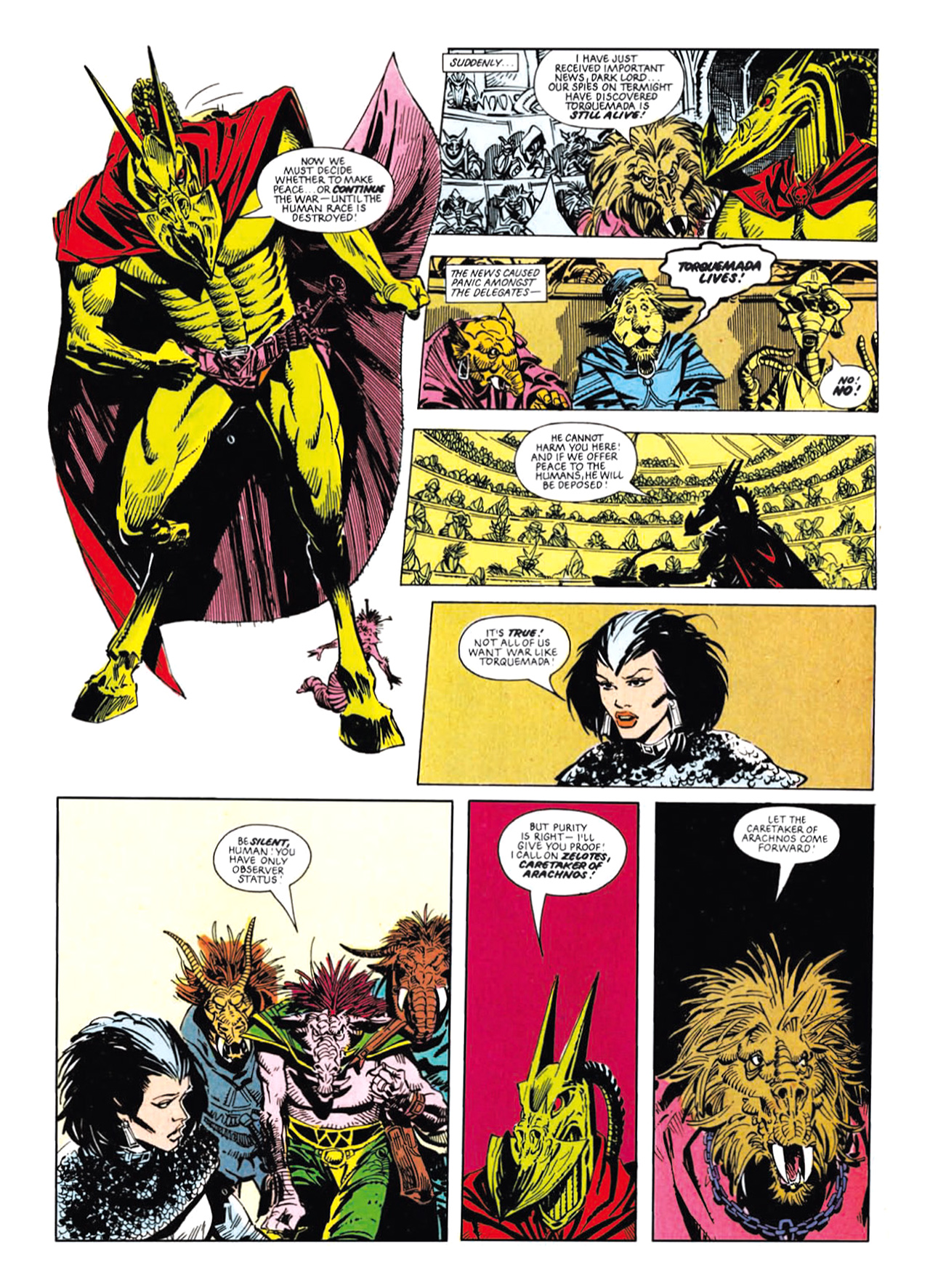 Read online Nemesis The Warlock comic -  Issue # TPB Deviant Edition - 139