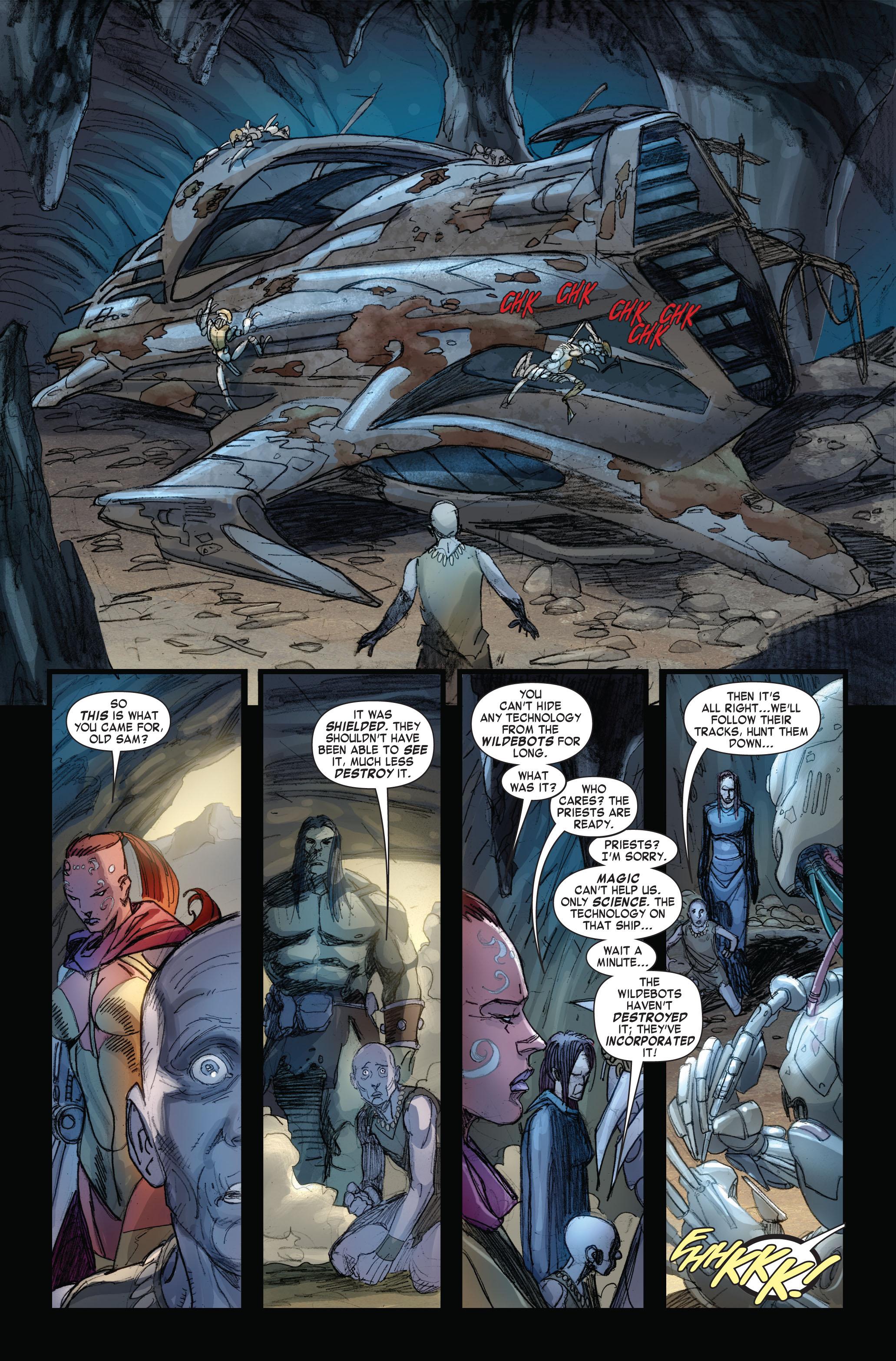 Read online Skaar: Son of Hulk comic -  Issue #4 - 13