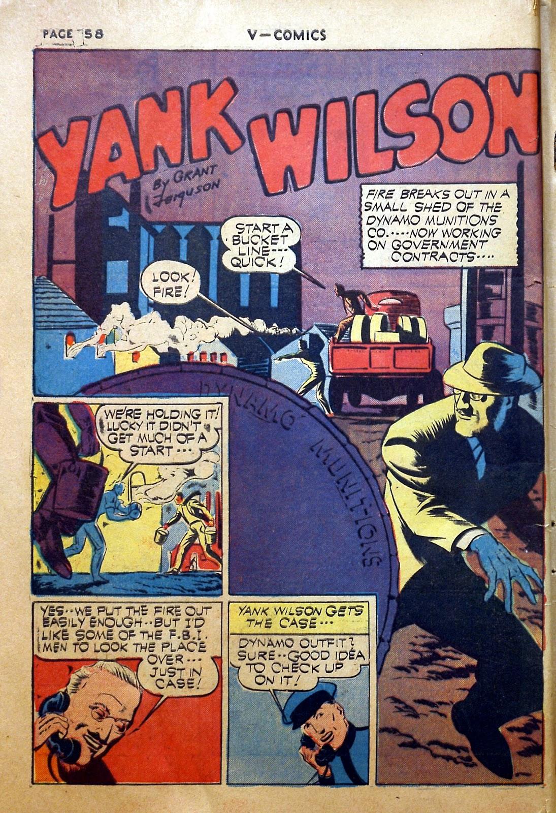Read online V...- Comics comic -  Issue #2 - 59