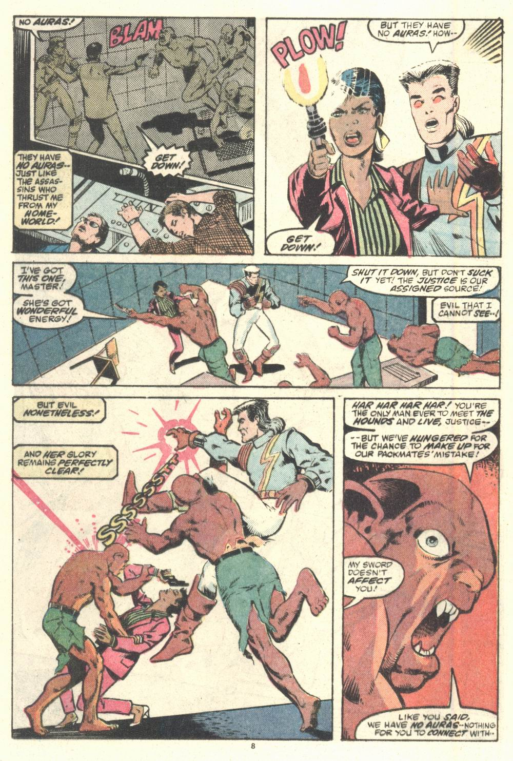 Read online Justice (1986) comic -  Issue #2 - 9