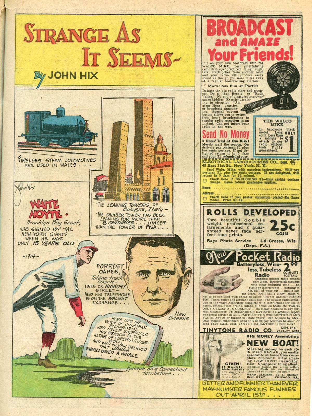 Read online Famous Funnies comic -  Issue #33 - 21