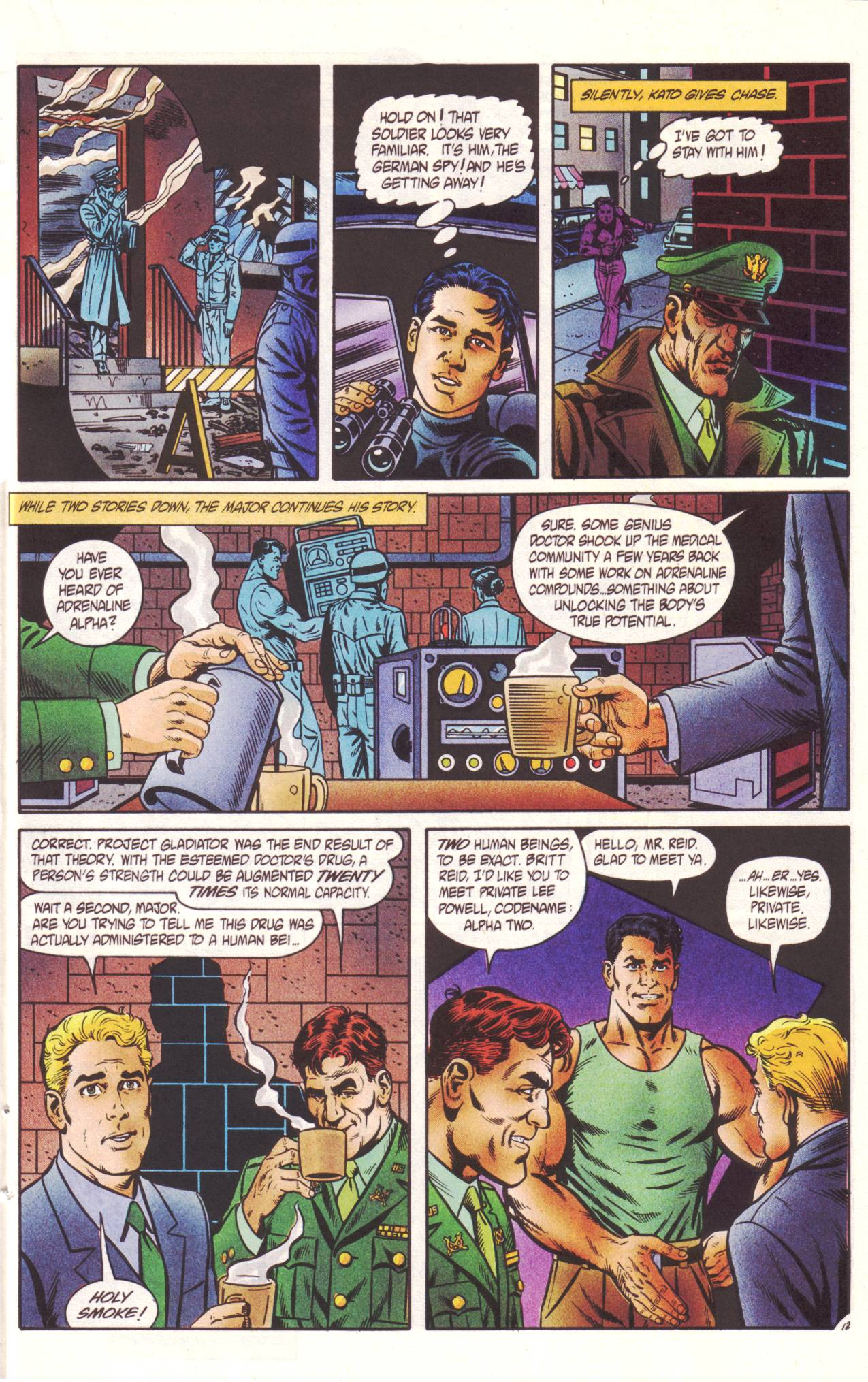 Read online Sting of The Green Hornet comic -  Issue #2 - 13
