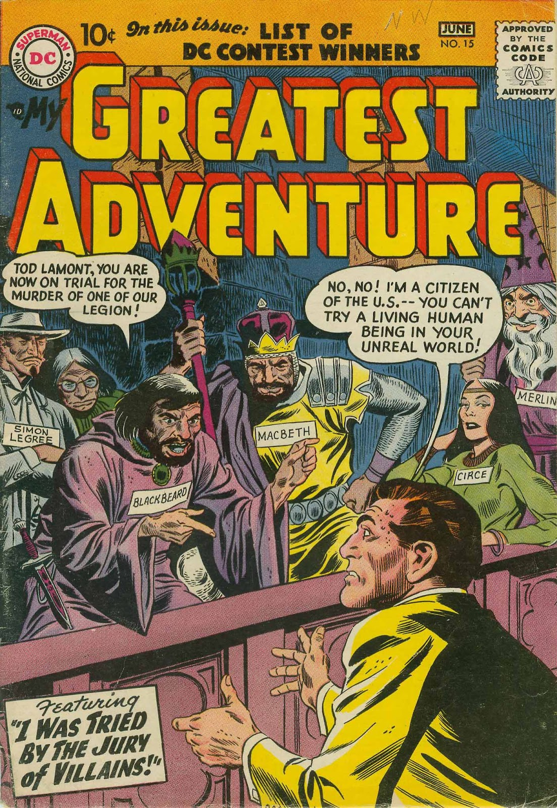 My Greatest Adventure (1955) 15 Page 1