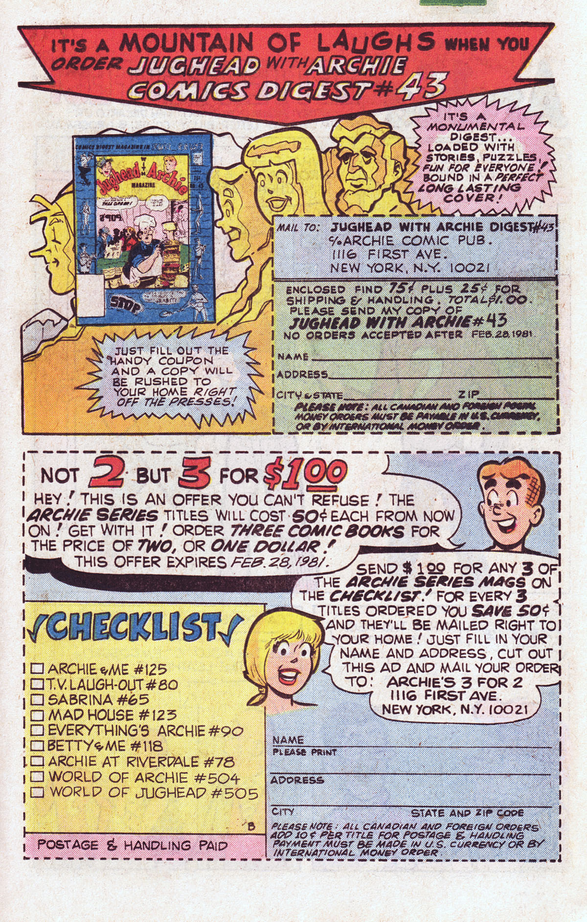 Read online Archie (1960) comic -  Issue #301 - 19