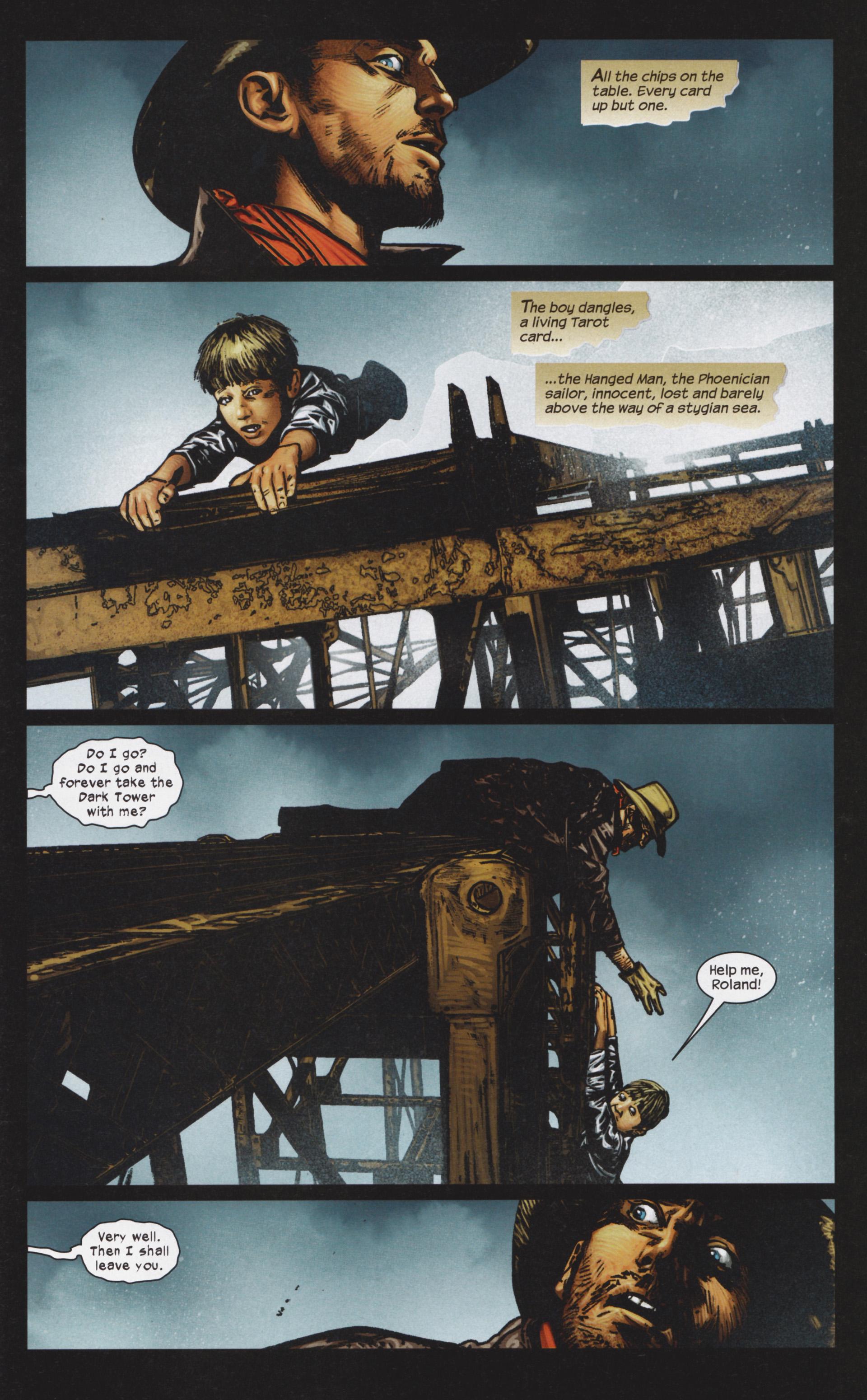 Read online Dark Tower: The Gunslinger - The Man in Black comic -  Issue #4 - 22