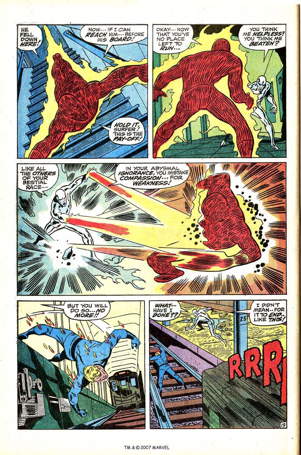 Read online Silver Surfer (1968) comic -  Issue #15 - 28