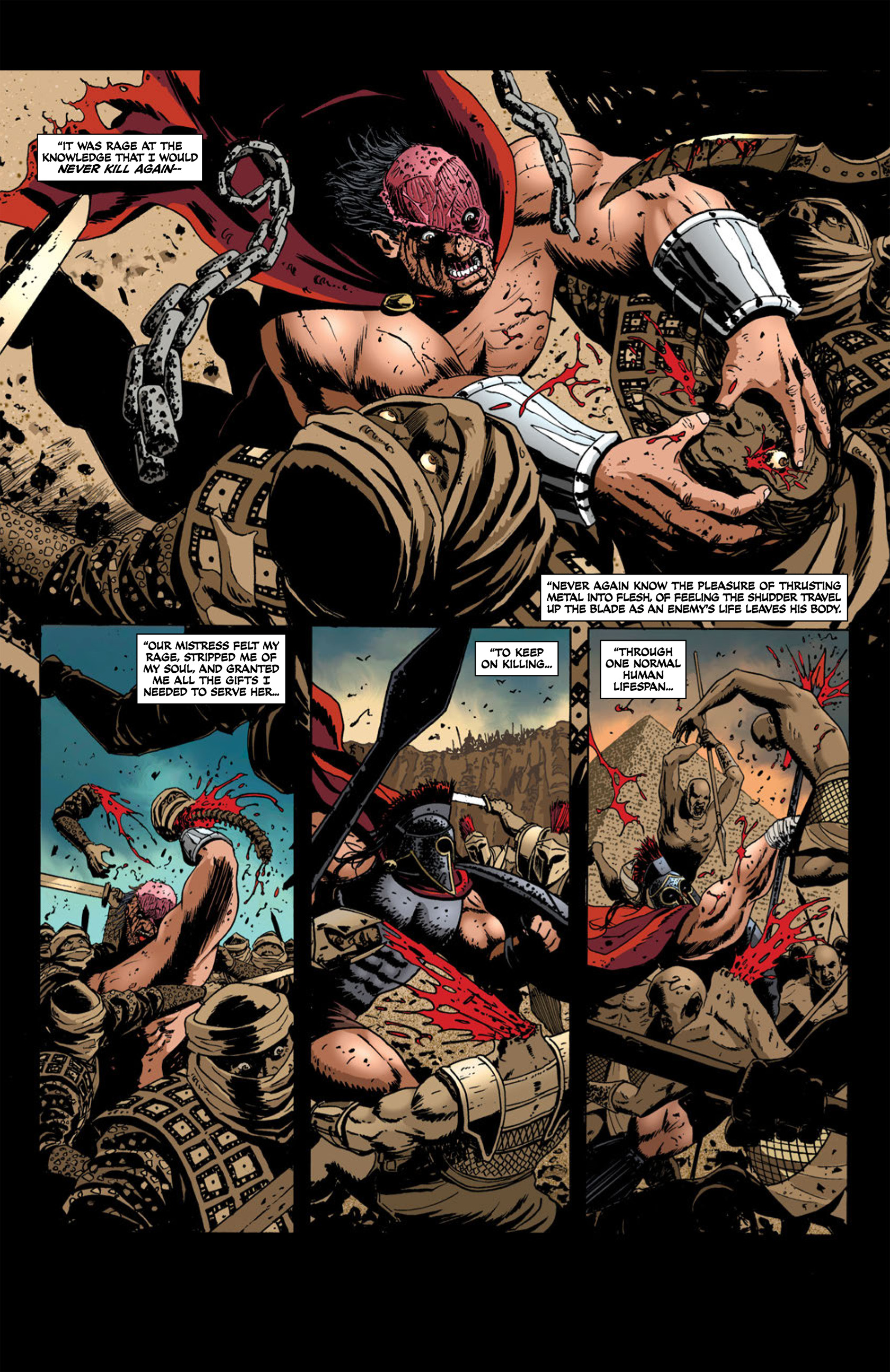 Read online Aquila comic -  Issue #2 - 5