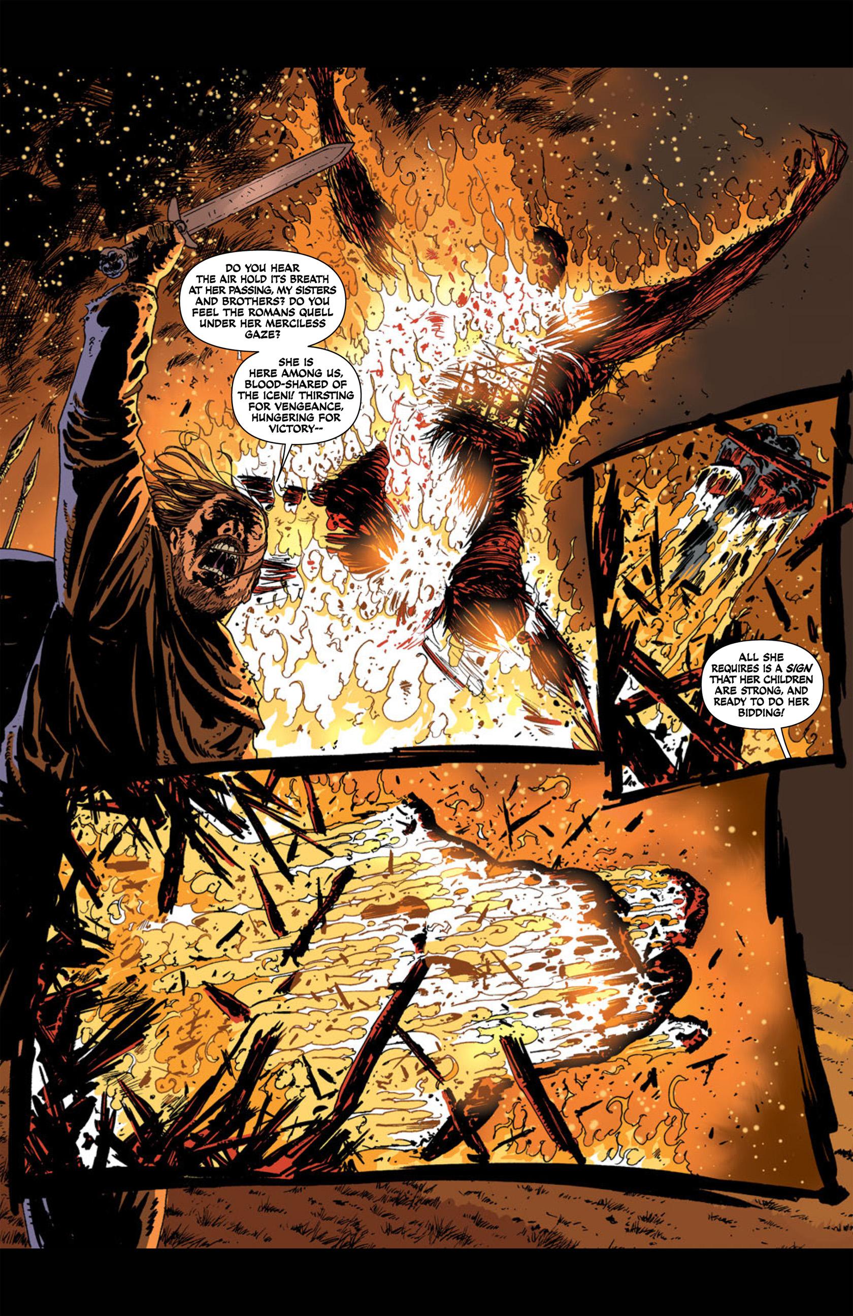 Read online Aquila comic -  Issue #1 - 15